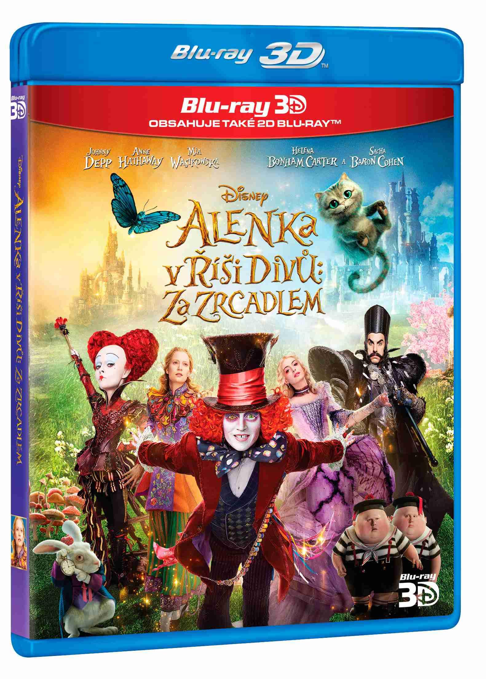 ALENKA V ŘÍŠI DIVŮ: ZA ZRCADLEM - Blu-ray 3D + 2D
