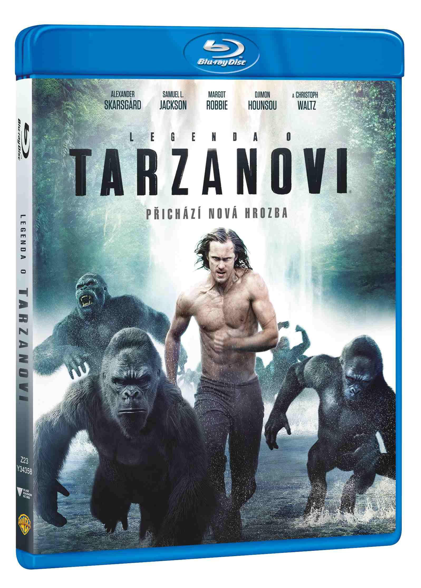 LEGENDA O TARZANOVI - Blu-ray