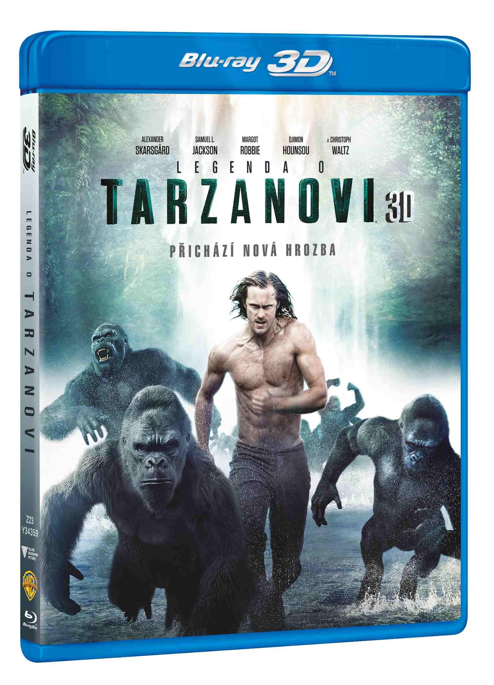 LEGENDA O TARZANOVI - Blu-ray 3D + 2D