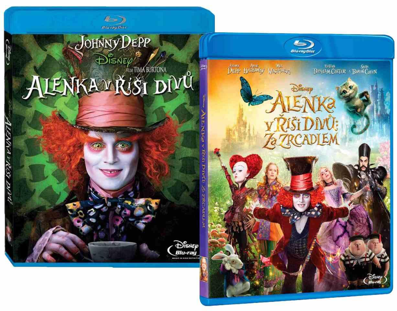ALENKA V ŘÍŠI DIVŮ 1+2 KOLEKCE (2 BD) - Blu-ray