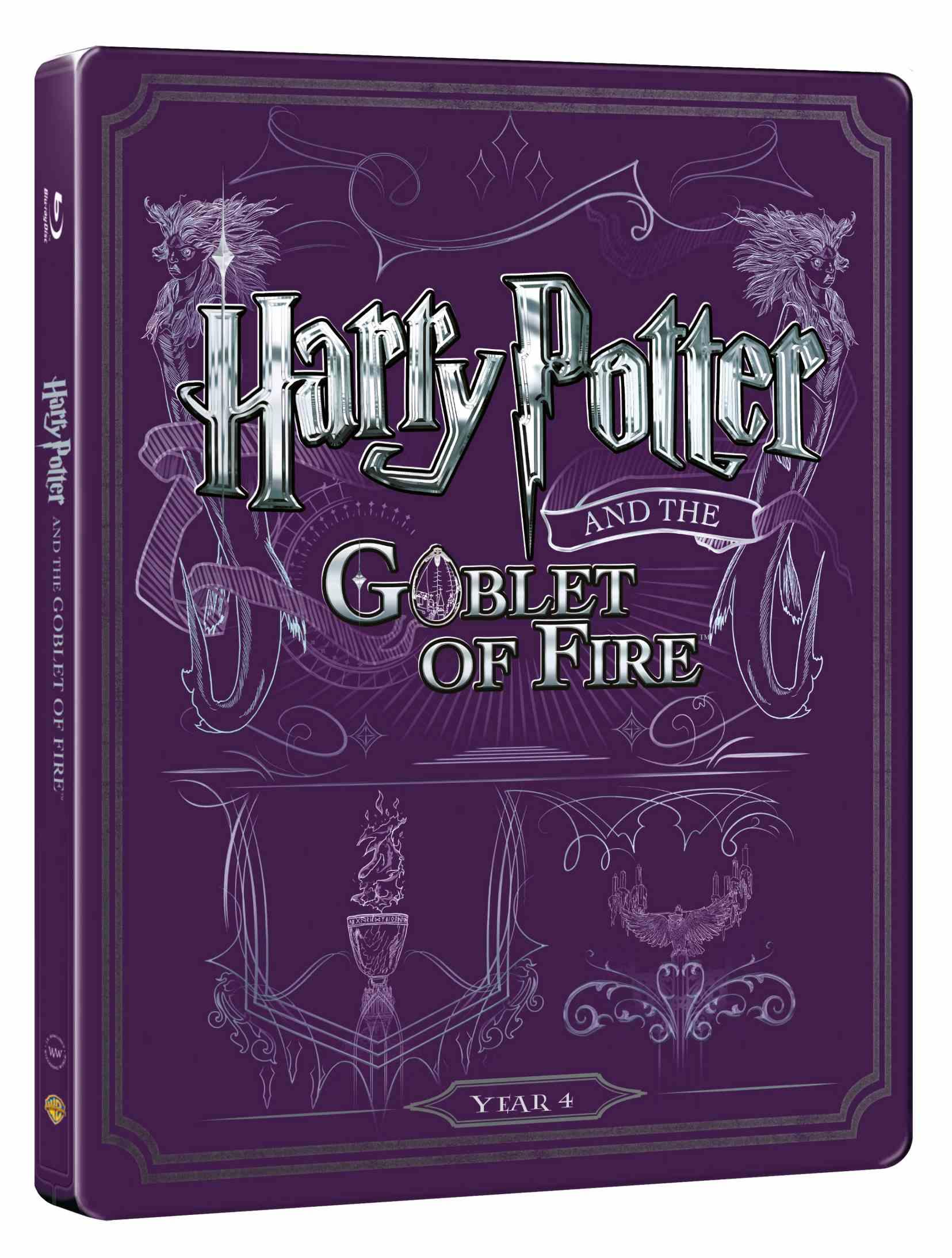 HARRY POTTER A OHNIVÝ POHÁR - Blu-ray + DVD bonus STEELBOOK