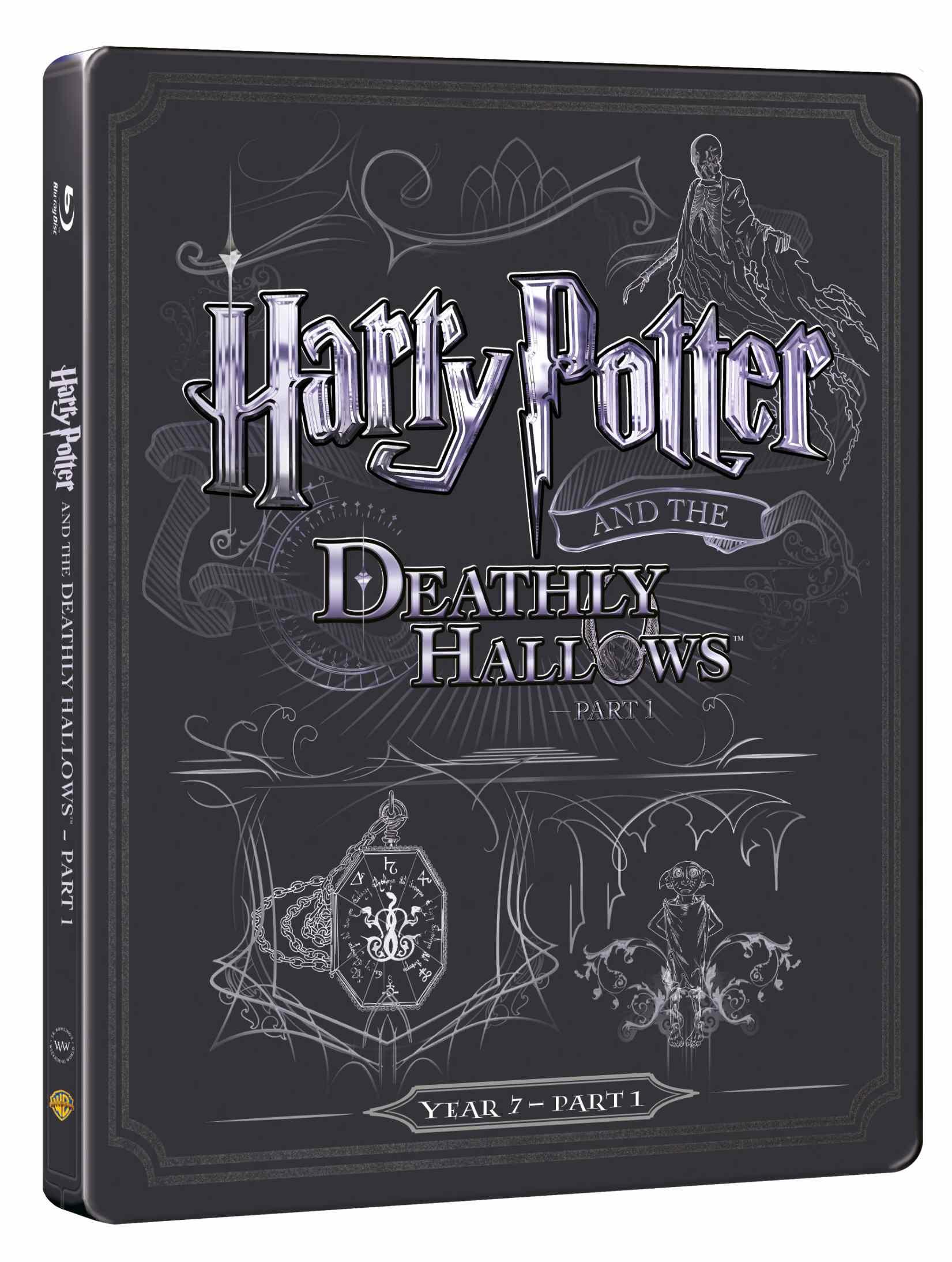 HARRY POTTER A RELIKVIE SMRTI 1. ČÁST - Blu-ray + DVD bonus STEELBOOK