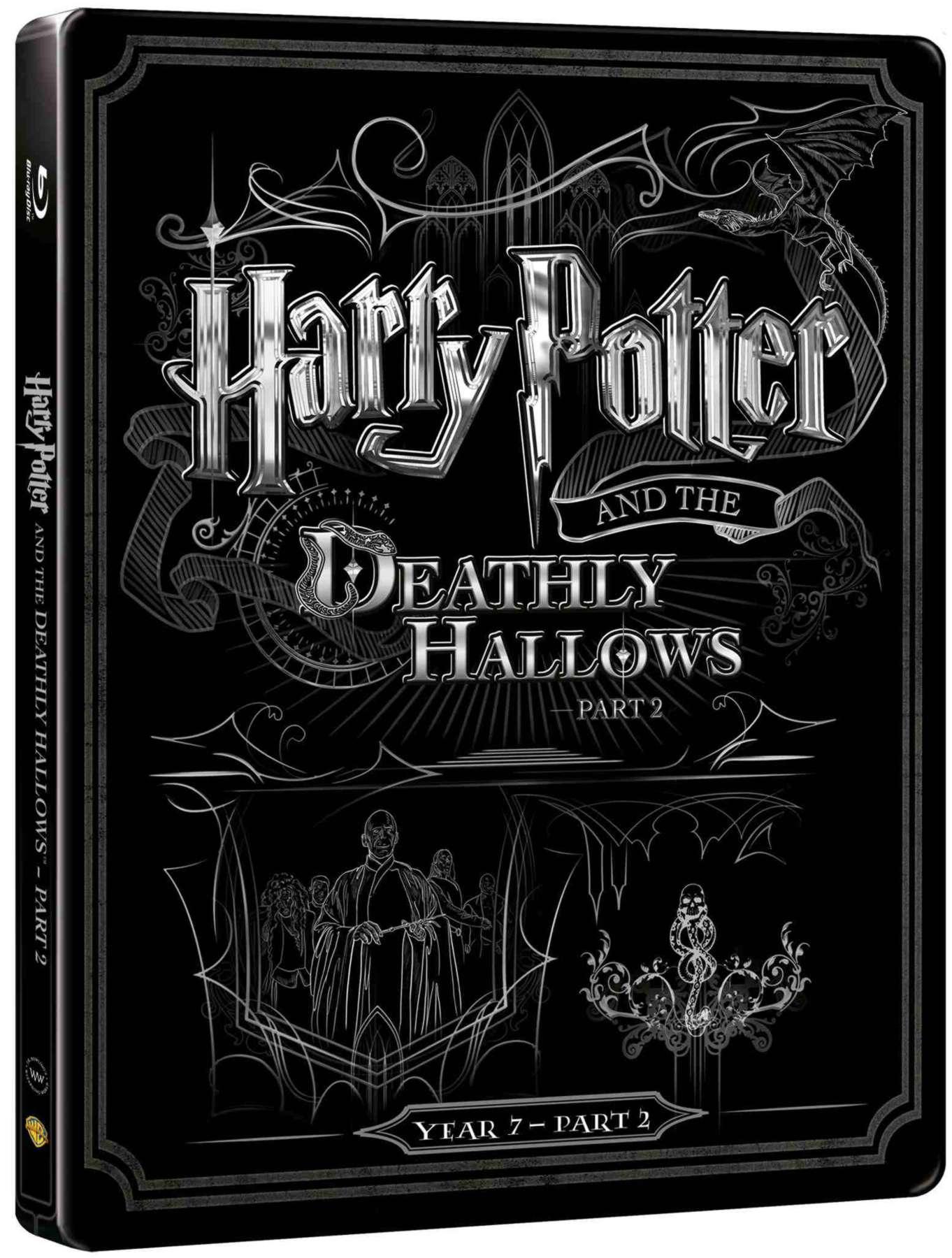 HARRY POTTER A RELIKVIE SMRTI 2. ČÁST - Blu-ray + DVD bonus STEELBOOK