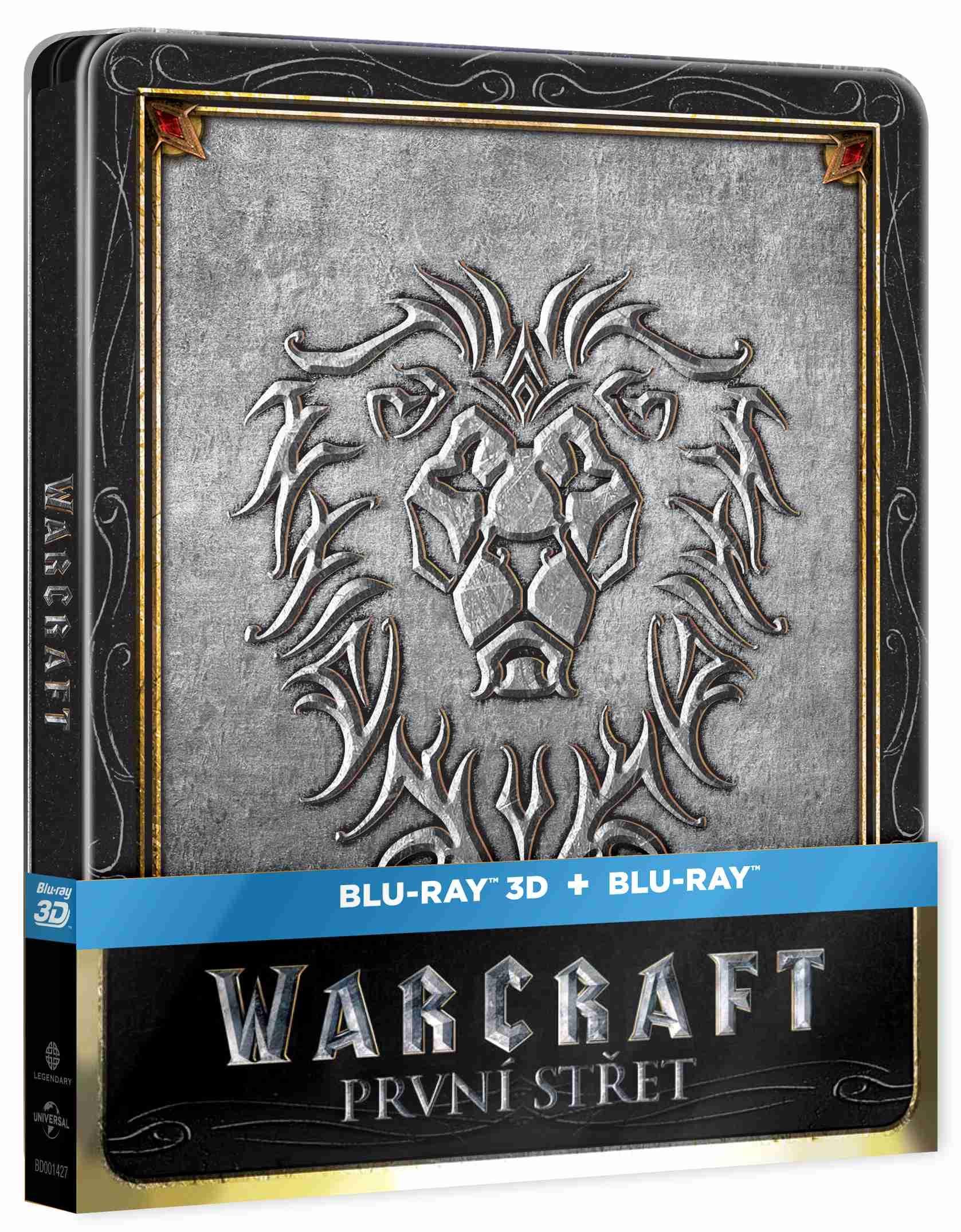 WARCRAFT: PRVNÍ STŘET - Blu-ray 3D + 2D STEELBOOK