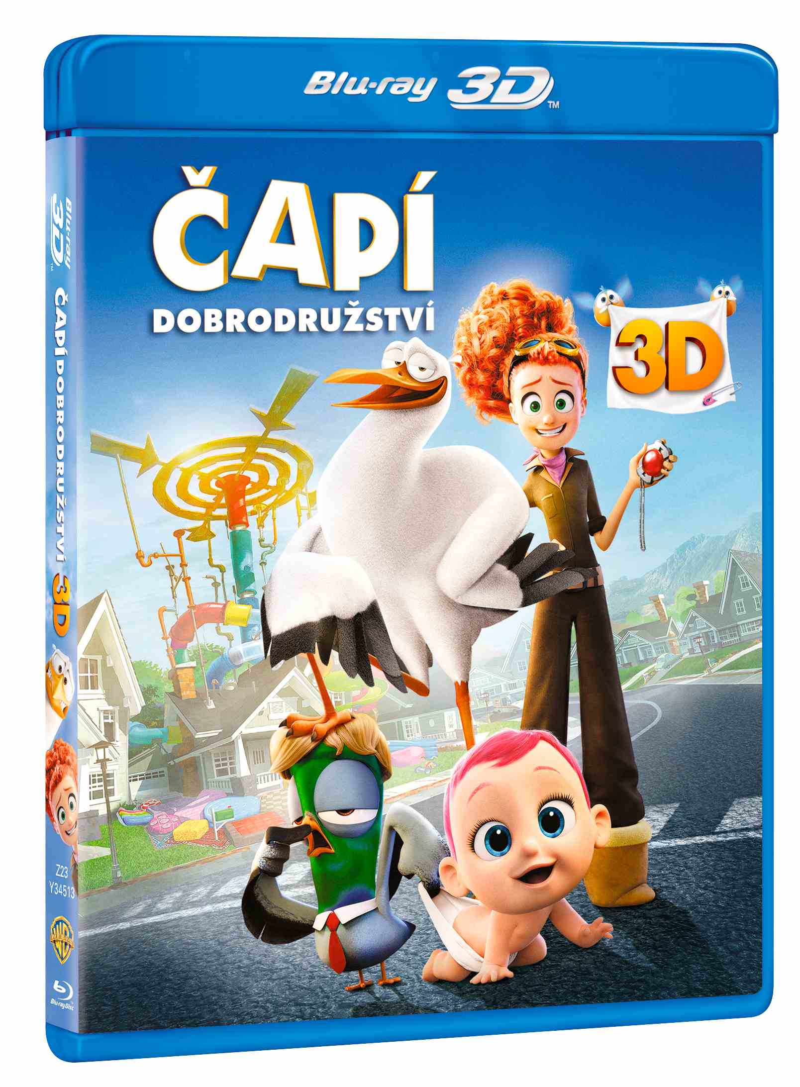 ČAPÍ DOBRODRUŽSTVÍ - Blu-ray 3D + 2D