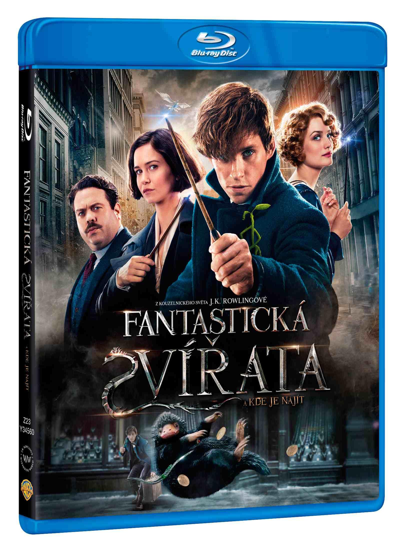 FANTASTICKÁ ZVÍŘATA A KDE JE NAJÍT - Blu-ray