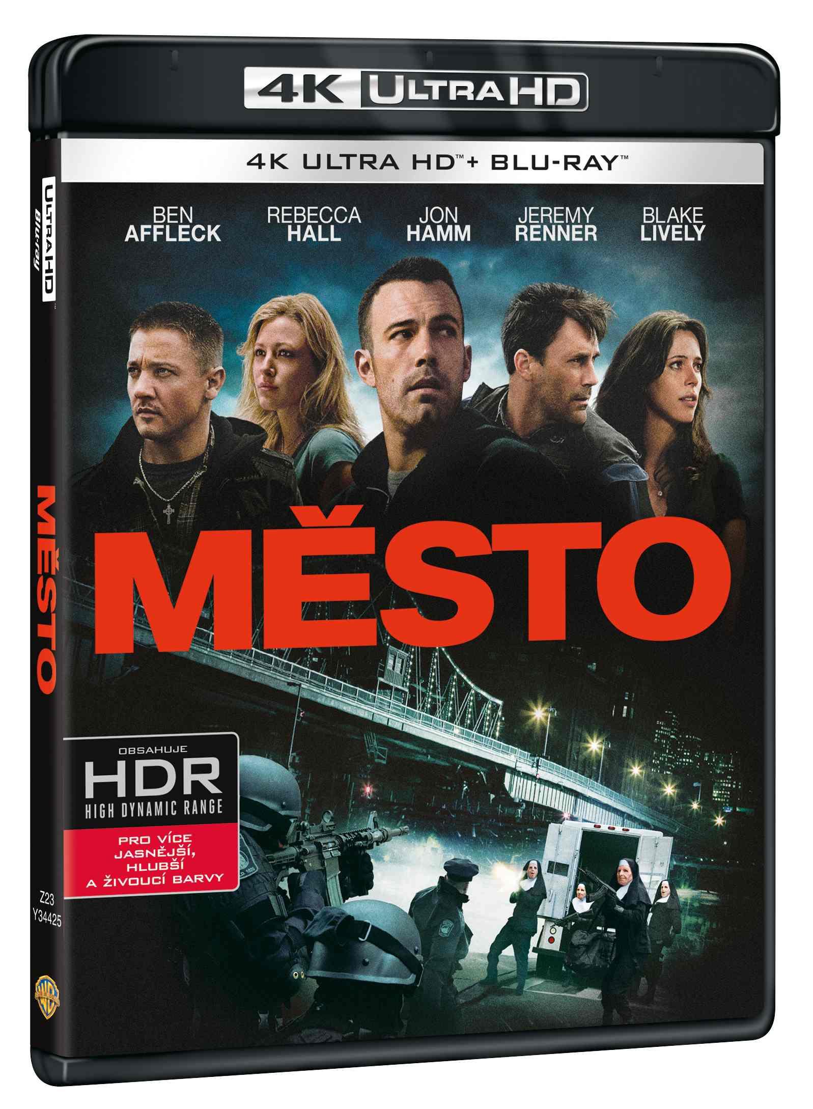 MĚSTO (4K ULTRA HD) - UHD Blu-ray + Blu-ray (2 BD)