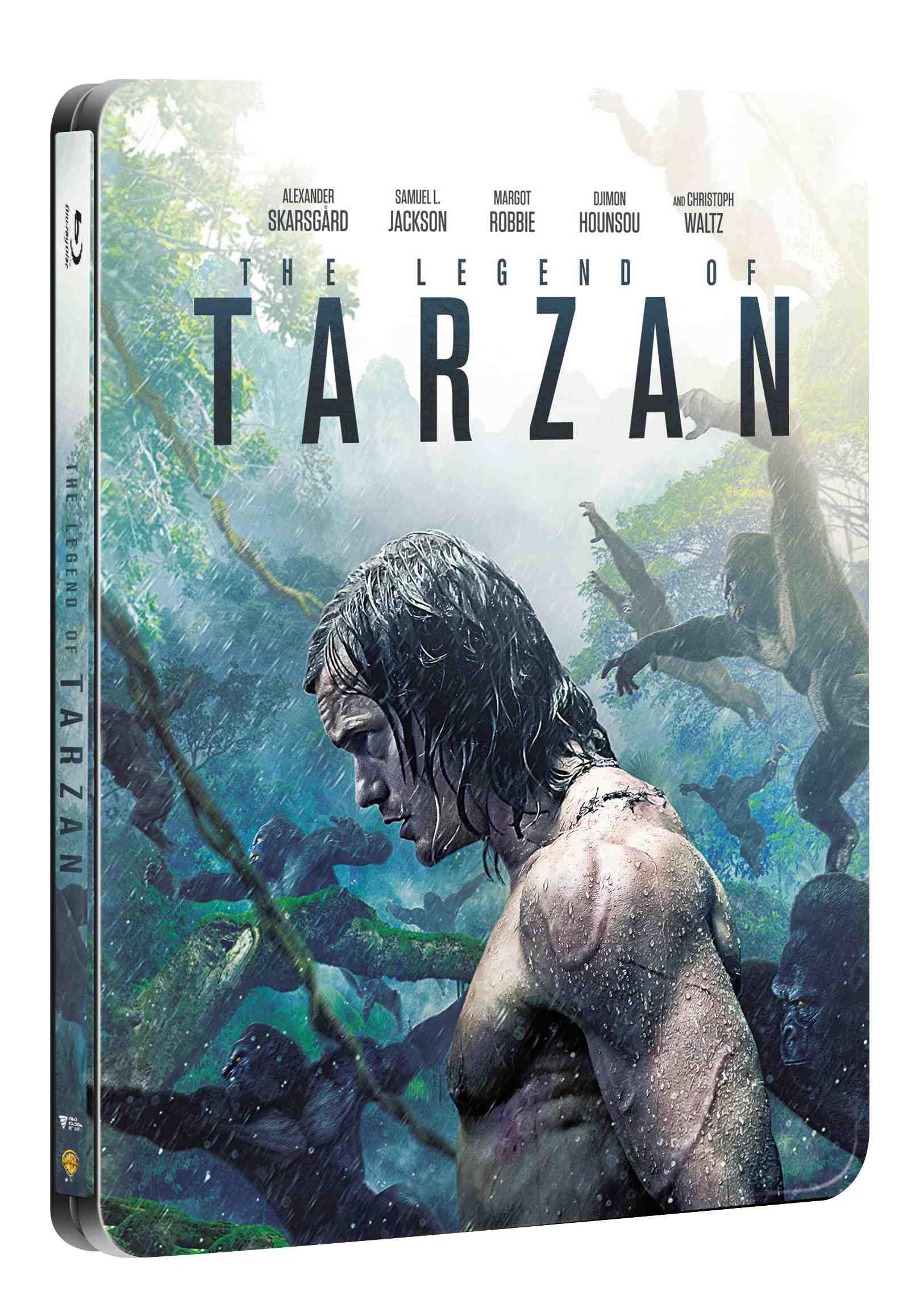 LEGENDA O TARZANOVI - Blu-ray 3D + 2D STEELBOOK