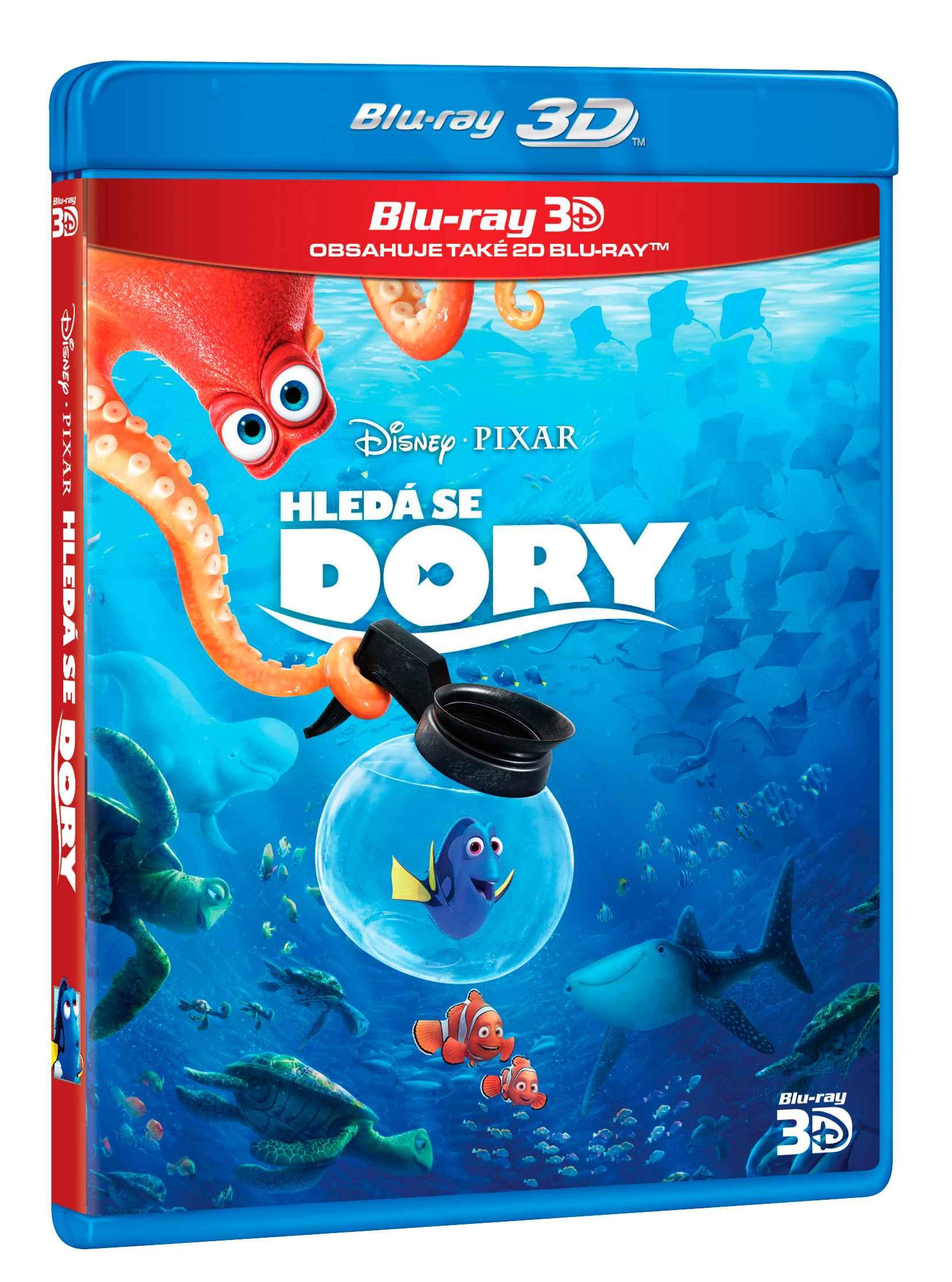HLEDÁ SE DORY - Blu-ray 3D + 2D