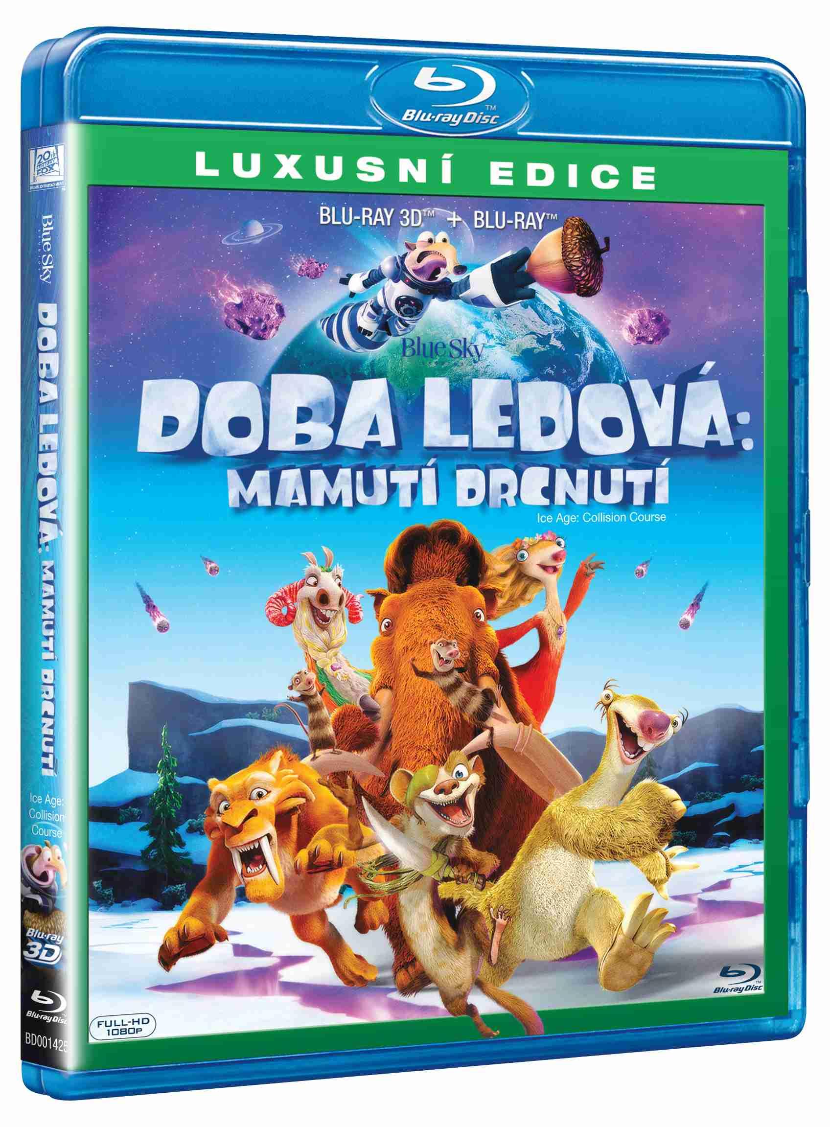 DOBA LEDOVÁ 5: MAMUTÍ DRCNUTÍ - Blu-ray 3D + 2D