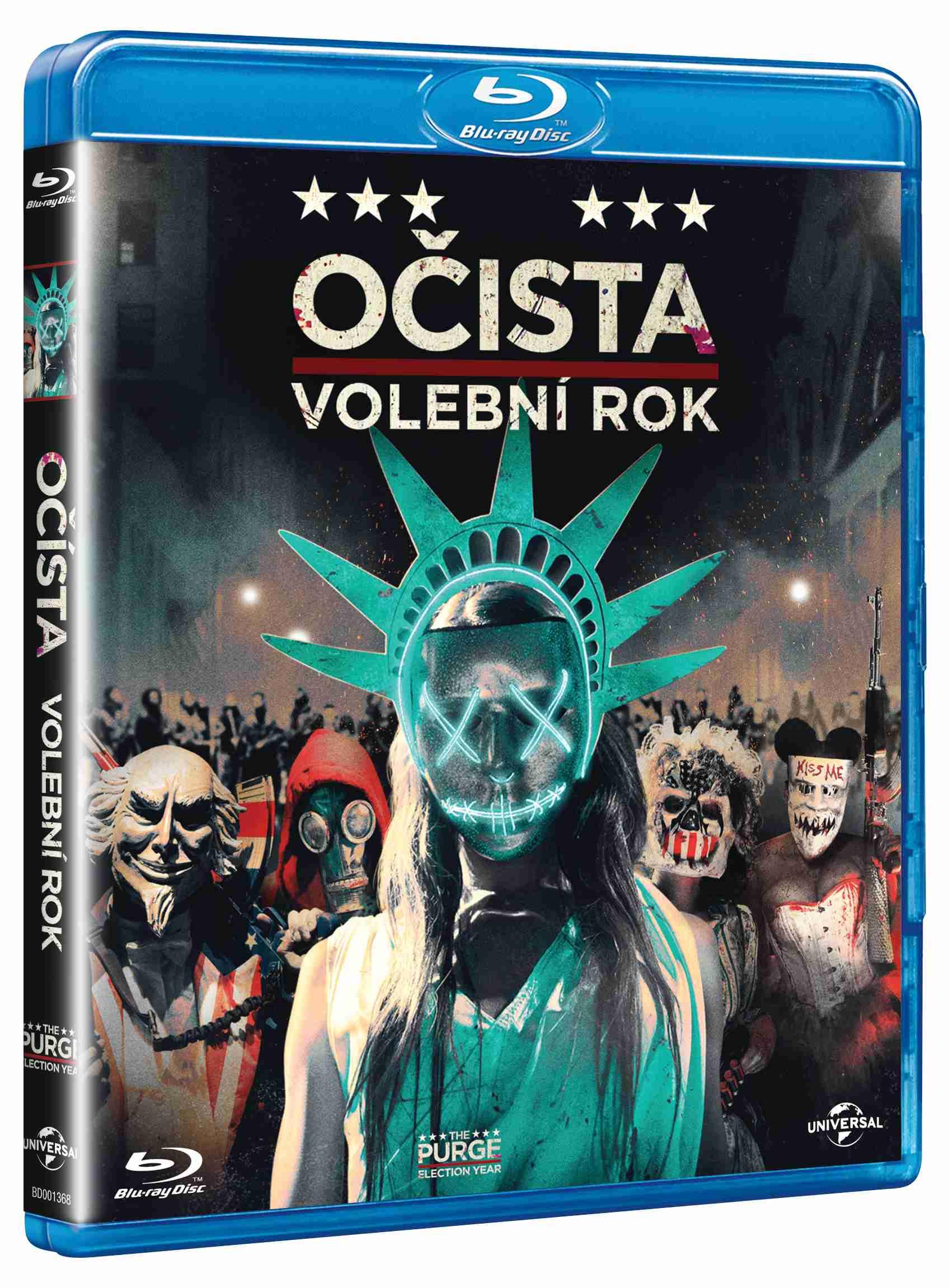 OČISTA: VOLEBNÍ ROK - Blu-ray