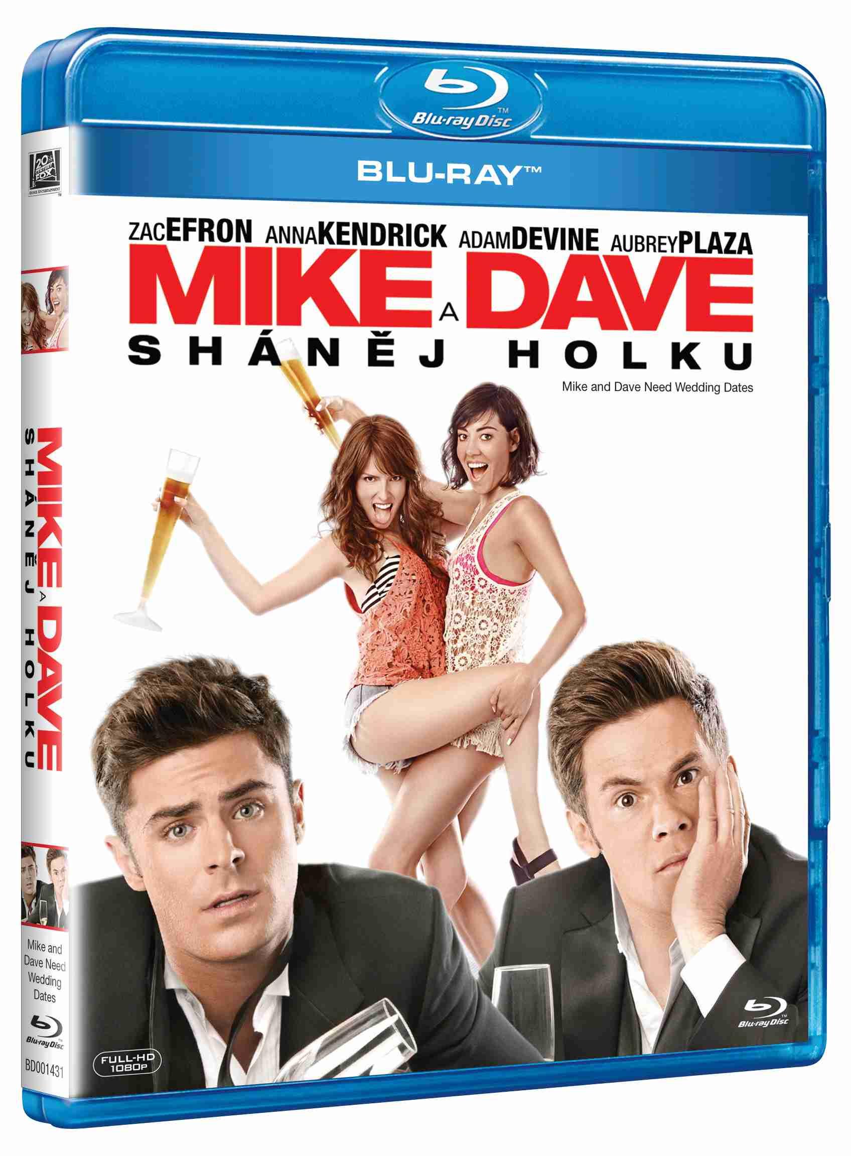 MIKE A DAVE SHÁNĚJ HOLKU - Blu-ray