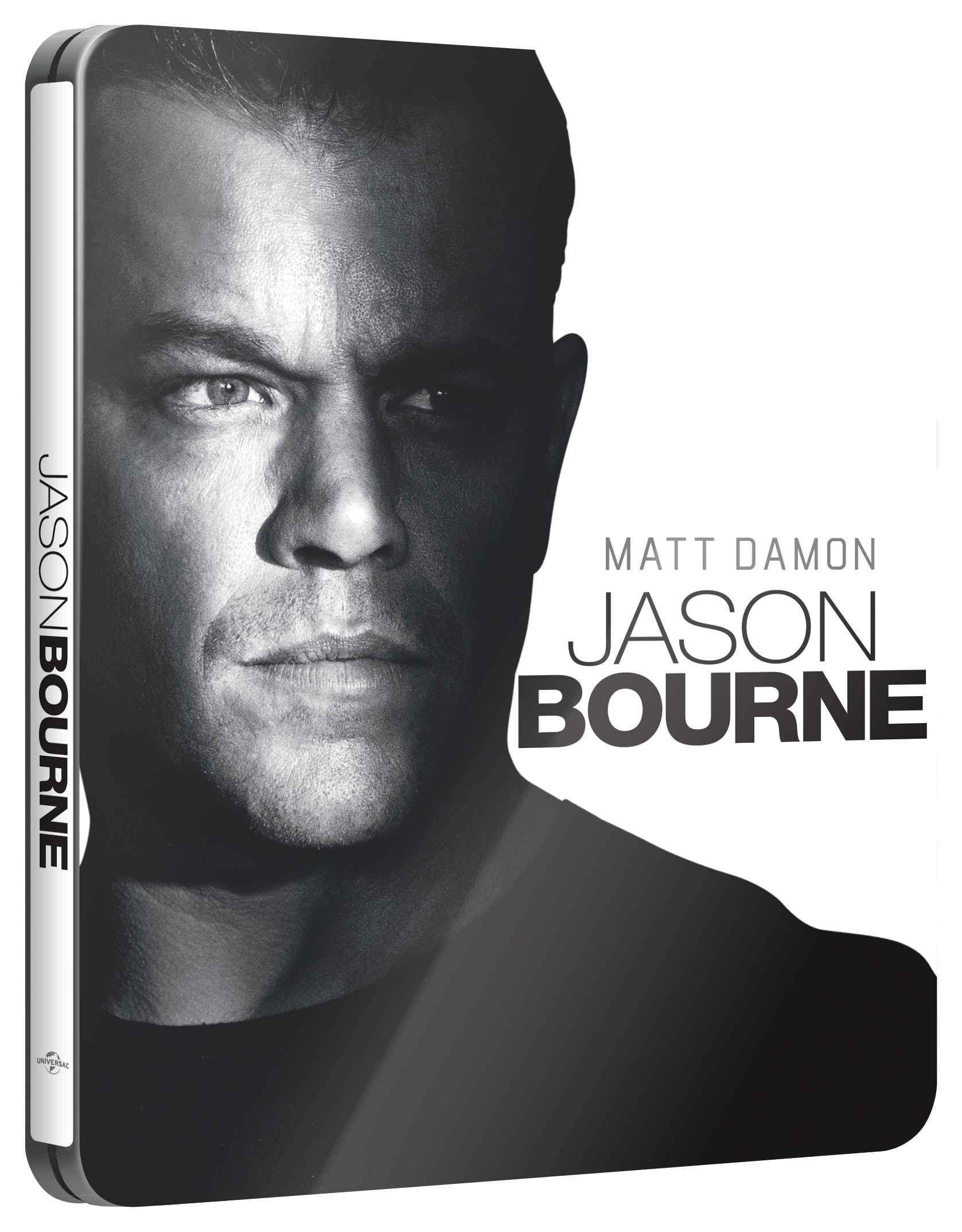 JASON BOURNE (BD + DVD) - Blu-ray STEELBOOK