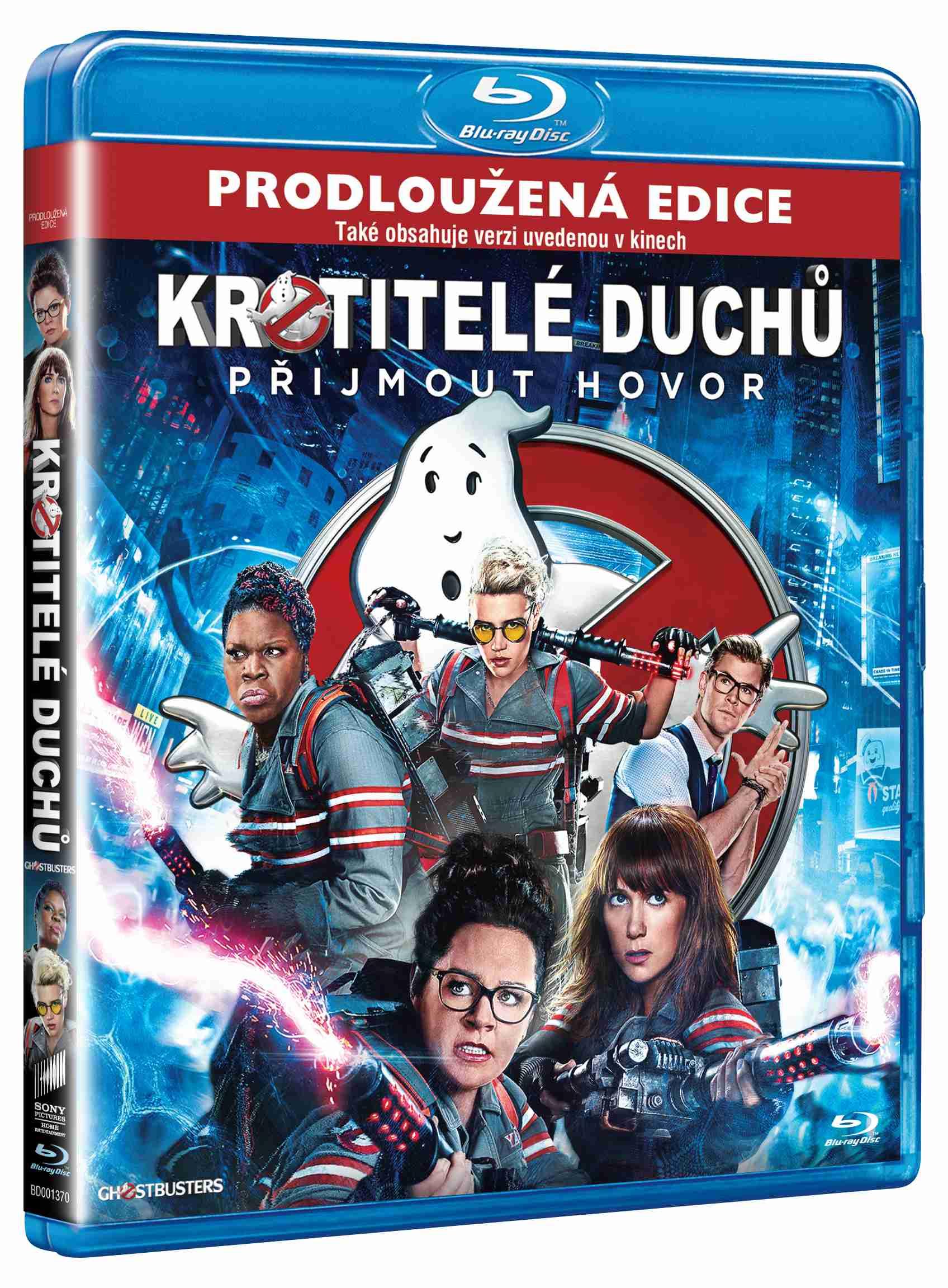 KROTITELÉ DUCHŮ (2016) Prodloužená verze - Blu-ray