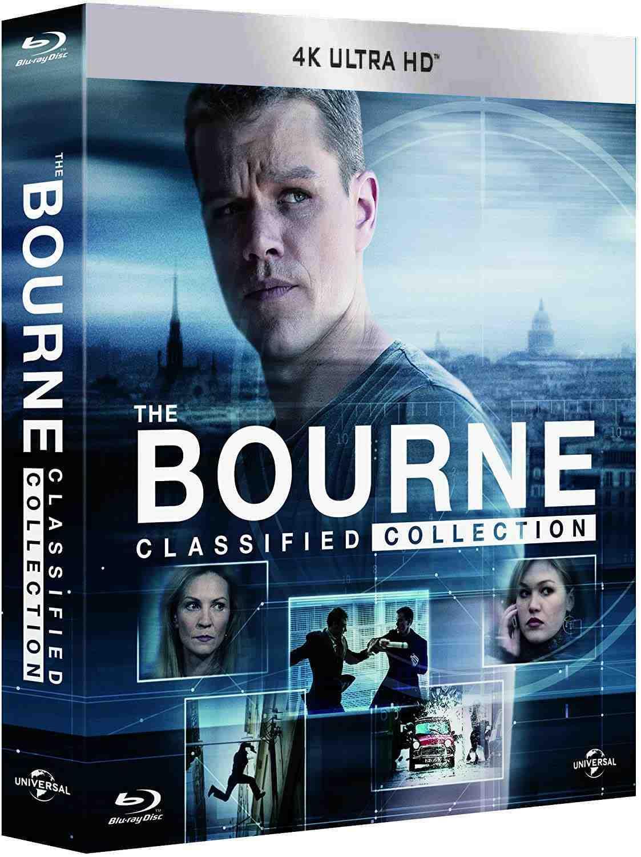 BOURNEOVA KOLEKCE (5 filmů + bonus disk) - Blu-ray (6 BD)