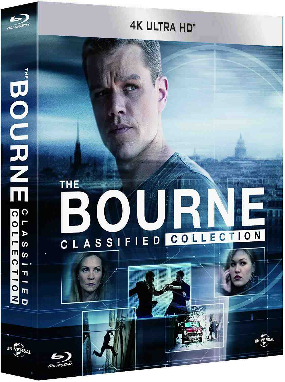 Bourneova kolekce 1-5 (4K Ultra HD) - UHD Blu-ray (5 filmů + DVD bonus disk)