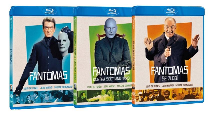 FANTOMAS KOLEKCE (3 BD) - Blu-ray