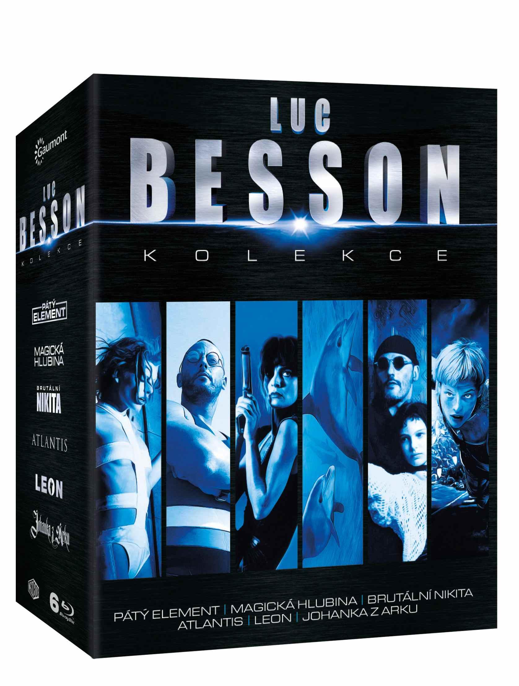 LUC BESSON KOLEKCE (6 BD) - Blu-ray