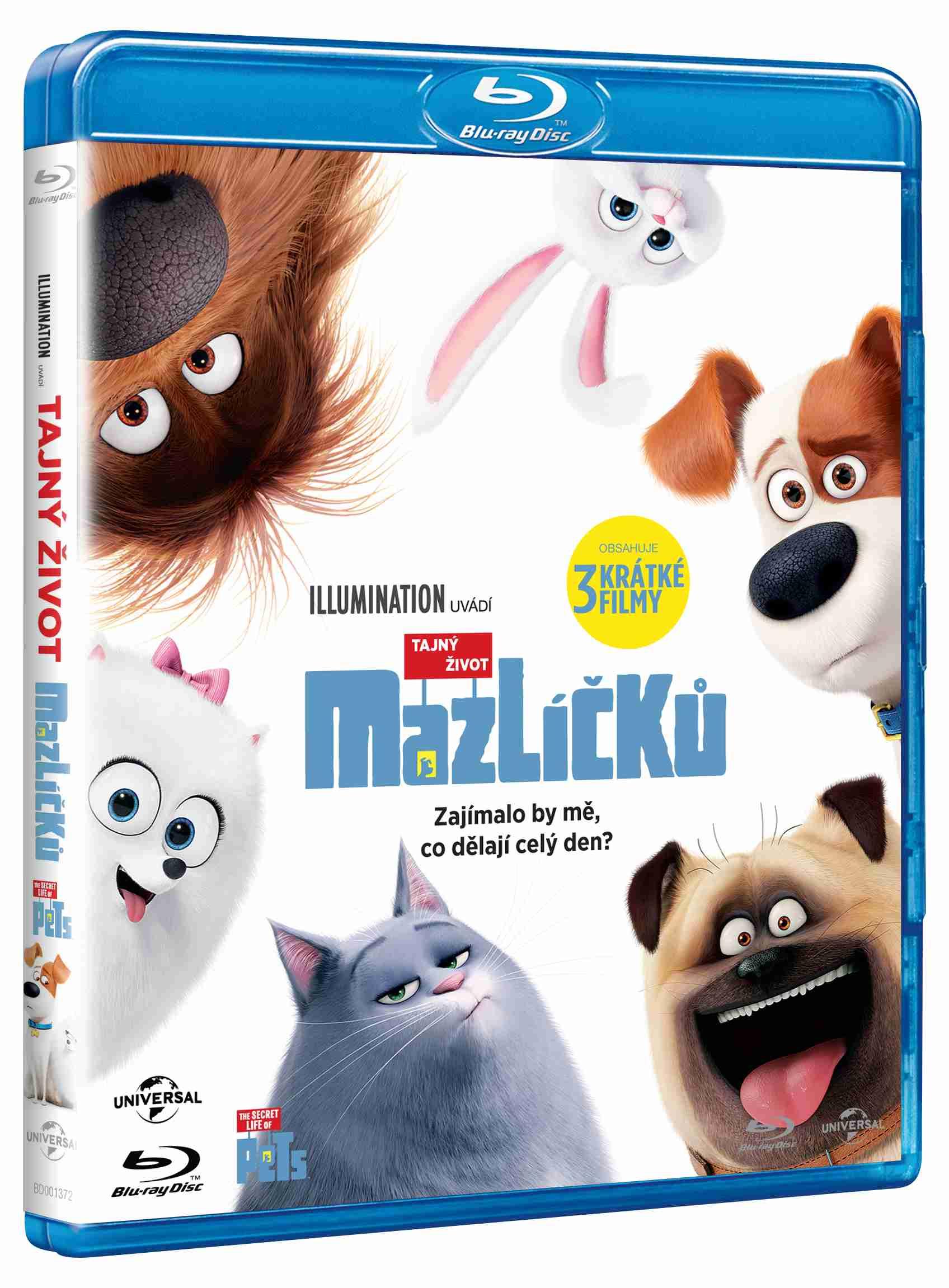 TAJNÝ ŽIVOT MAZLÍČKŮ - Blu-ray