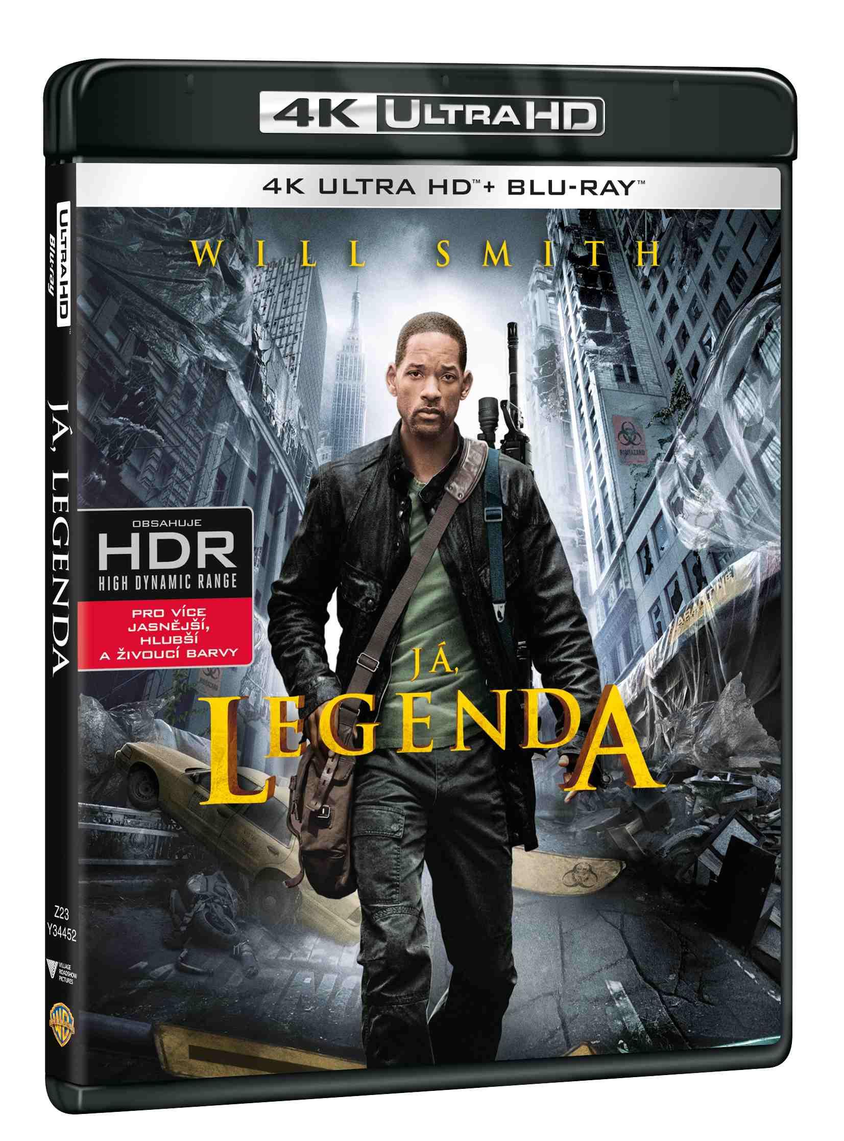 JÁ, LEGENDA (4K ULTRA HD) - UHD Blu-ray + Blu-ray (2 BD)