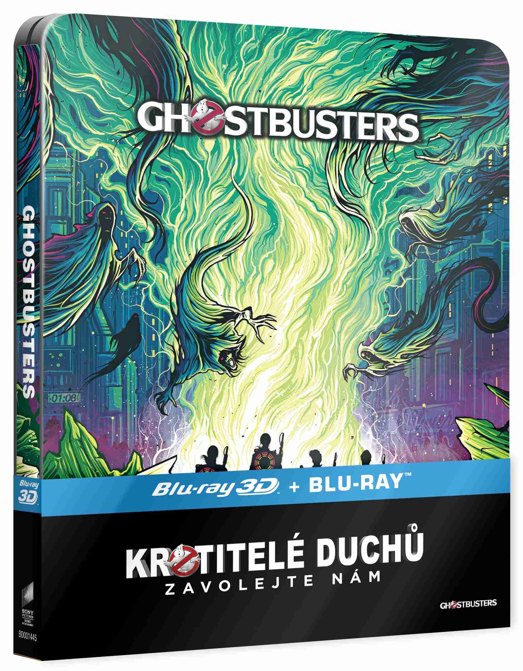 KROTITELÉ DUCHŮ (2016, 2 BD) - Blu-ray 3D + 2D STEELBOOK