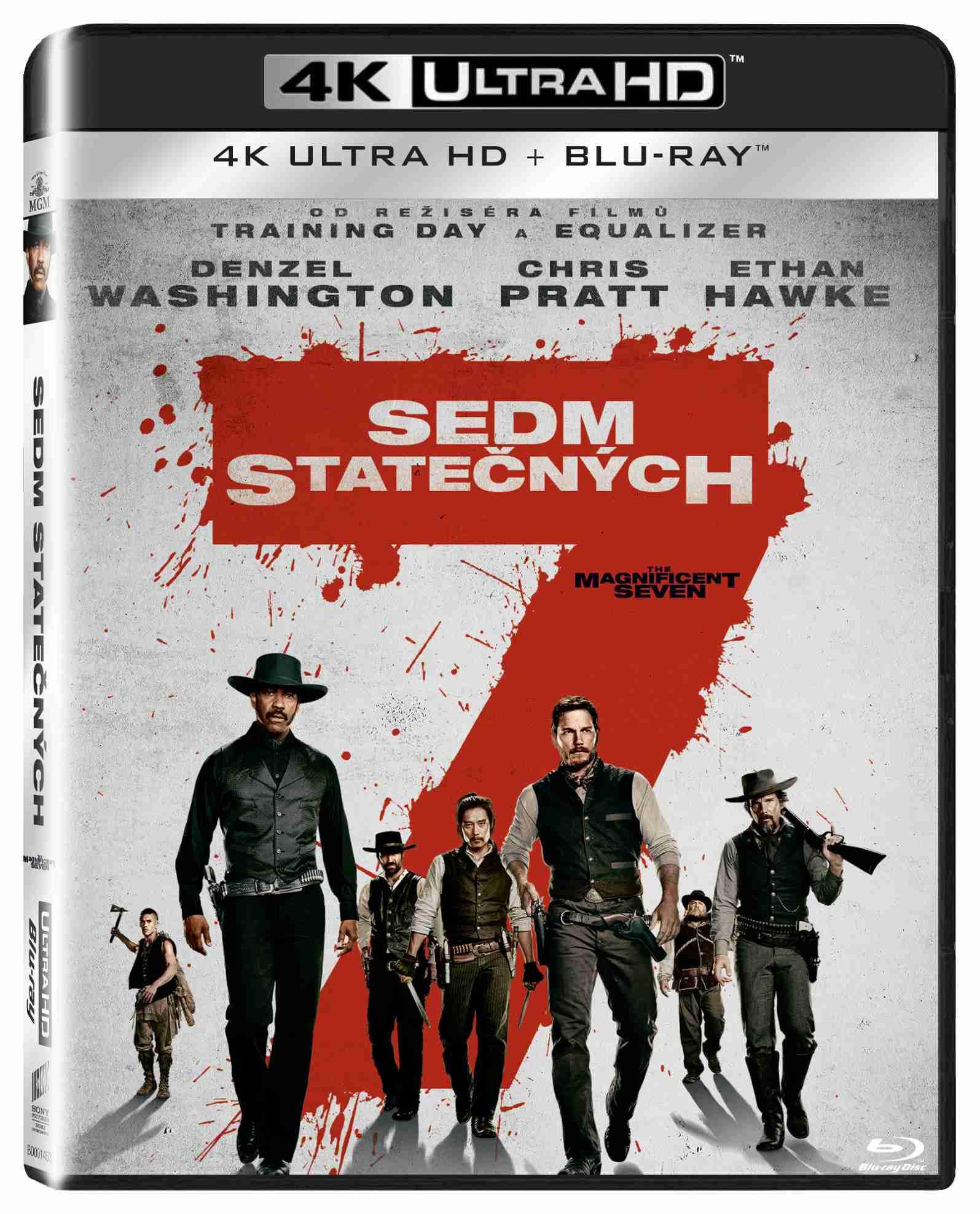 SEDM STATEČNÝCH (2016) - UHD Blu-ray (2 disky)