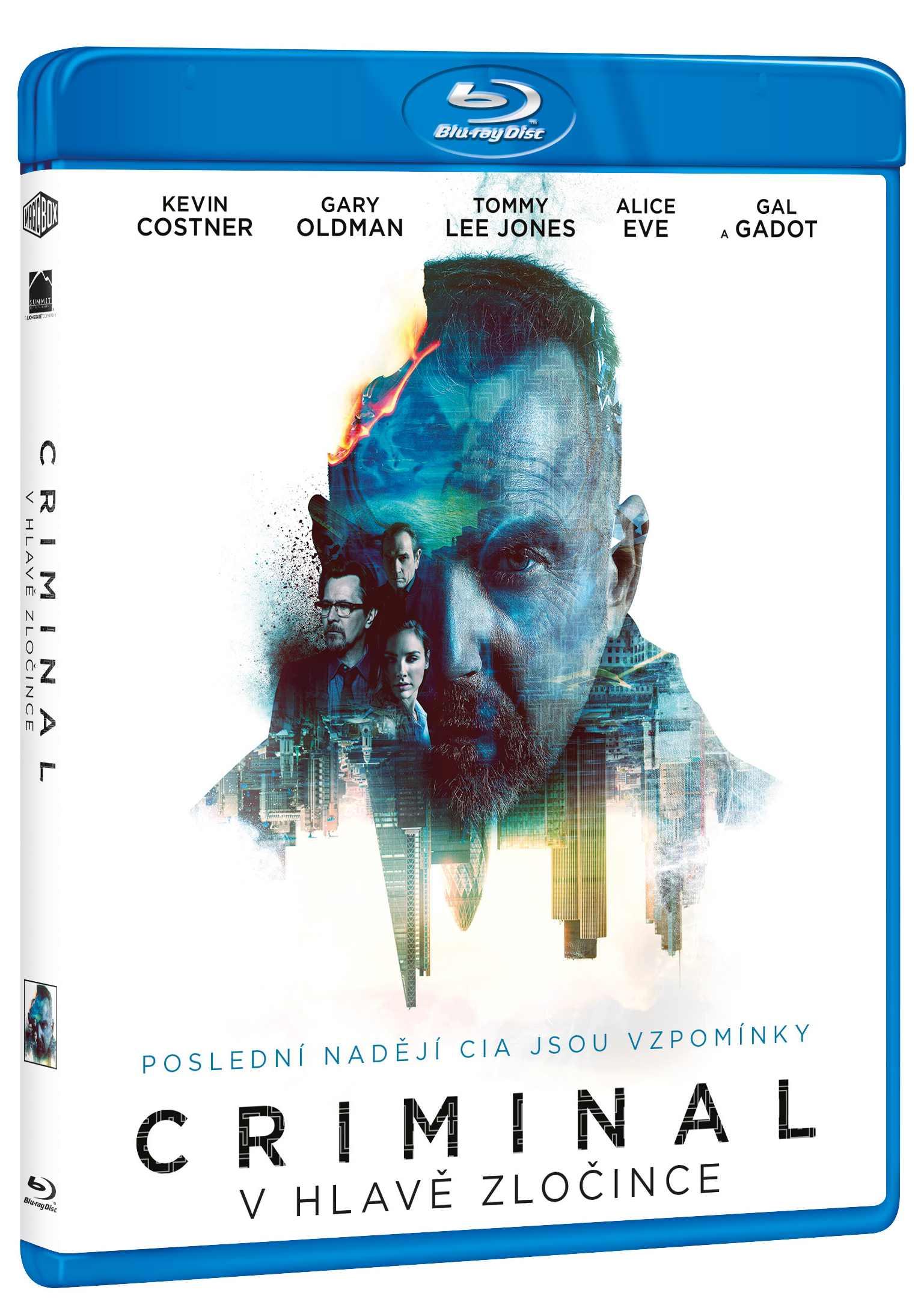 CRIMINAL: V HLAVĚ ZLOČINCE - Blu-ray