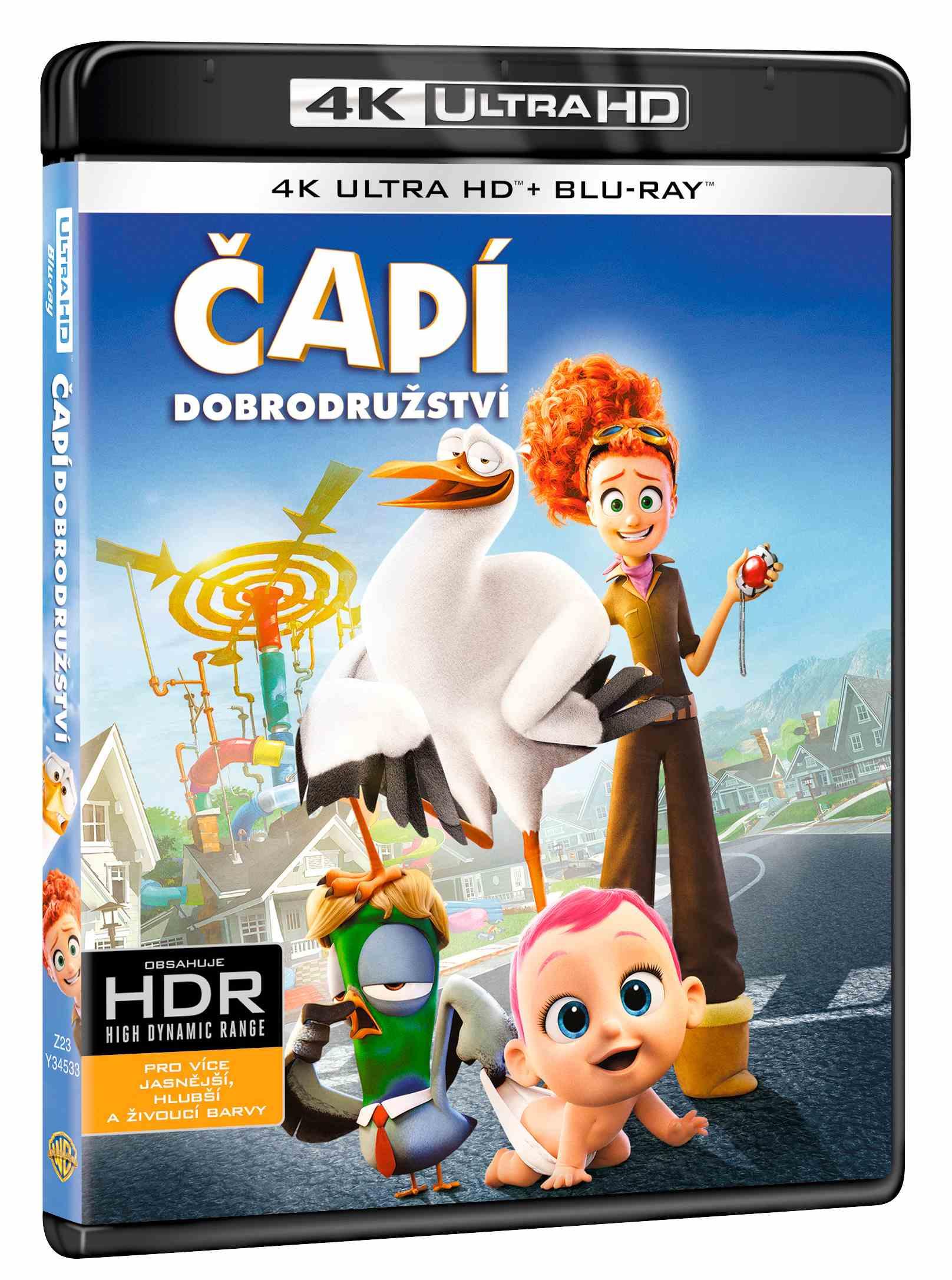 Čapí dobrodružství (4K Ultra HD) - UHD Blu-ray + Blu-ray (2 BD)