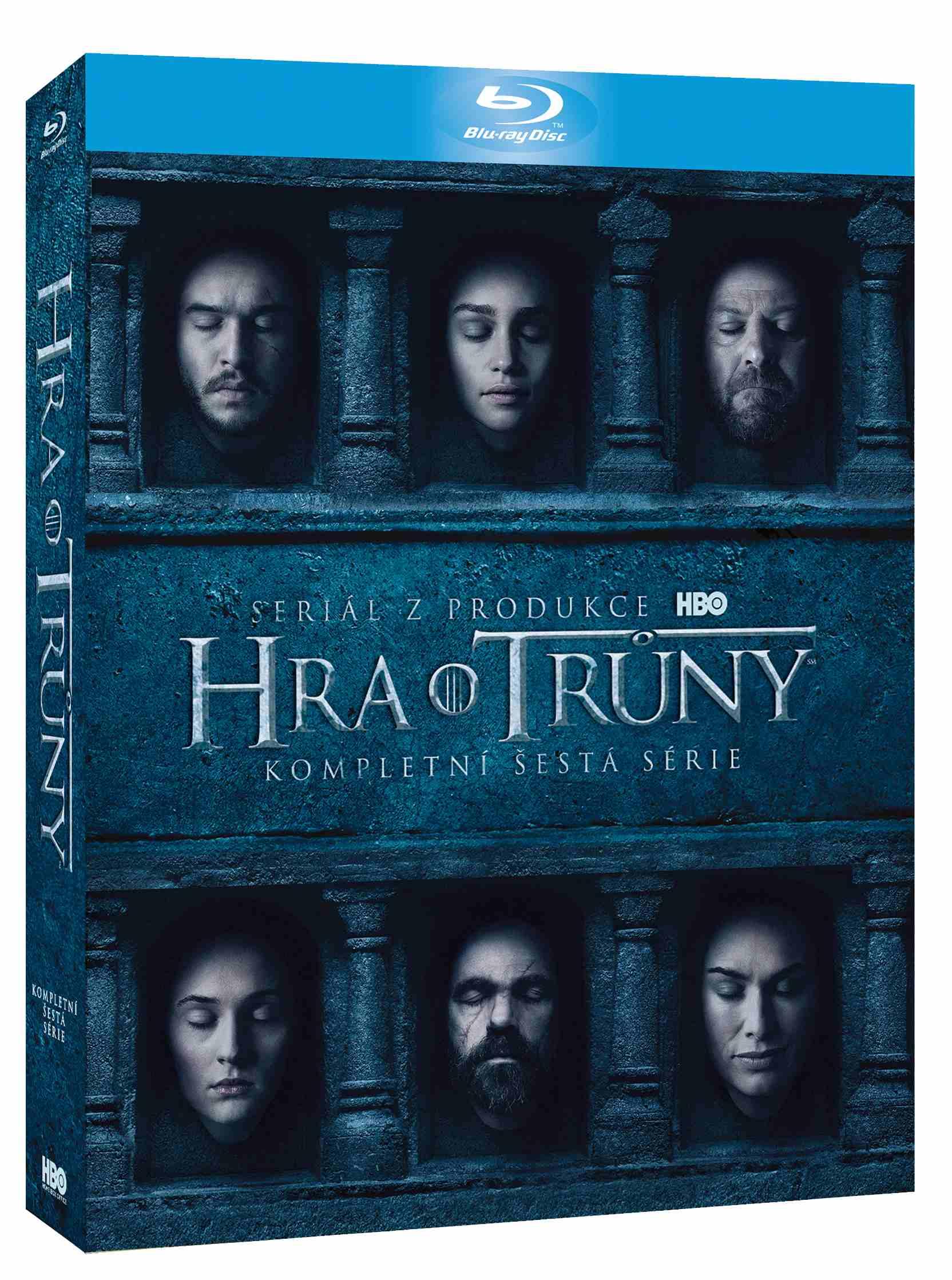 HRA O TRŮNY - 6. SÉRIE (4 BD) - Blu-ray