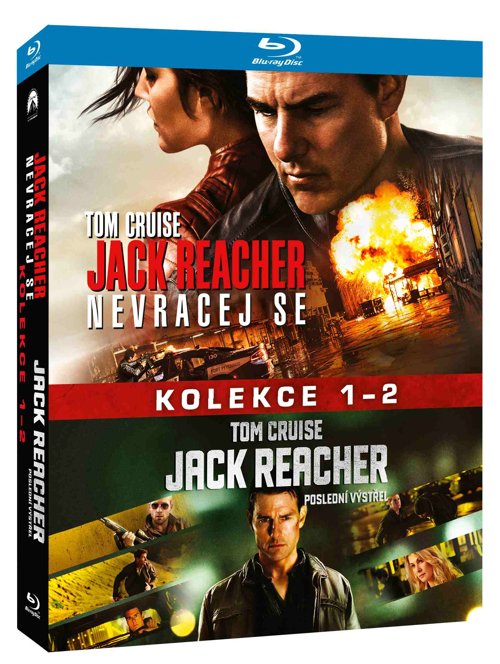 JACK REACHER 1+2 KOLEKCE (2 BD) - Blu-ray