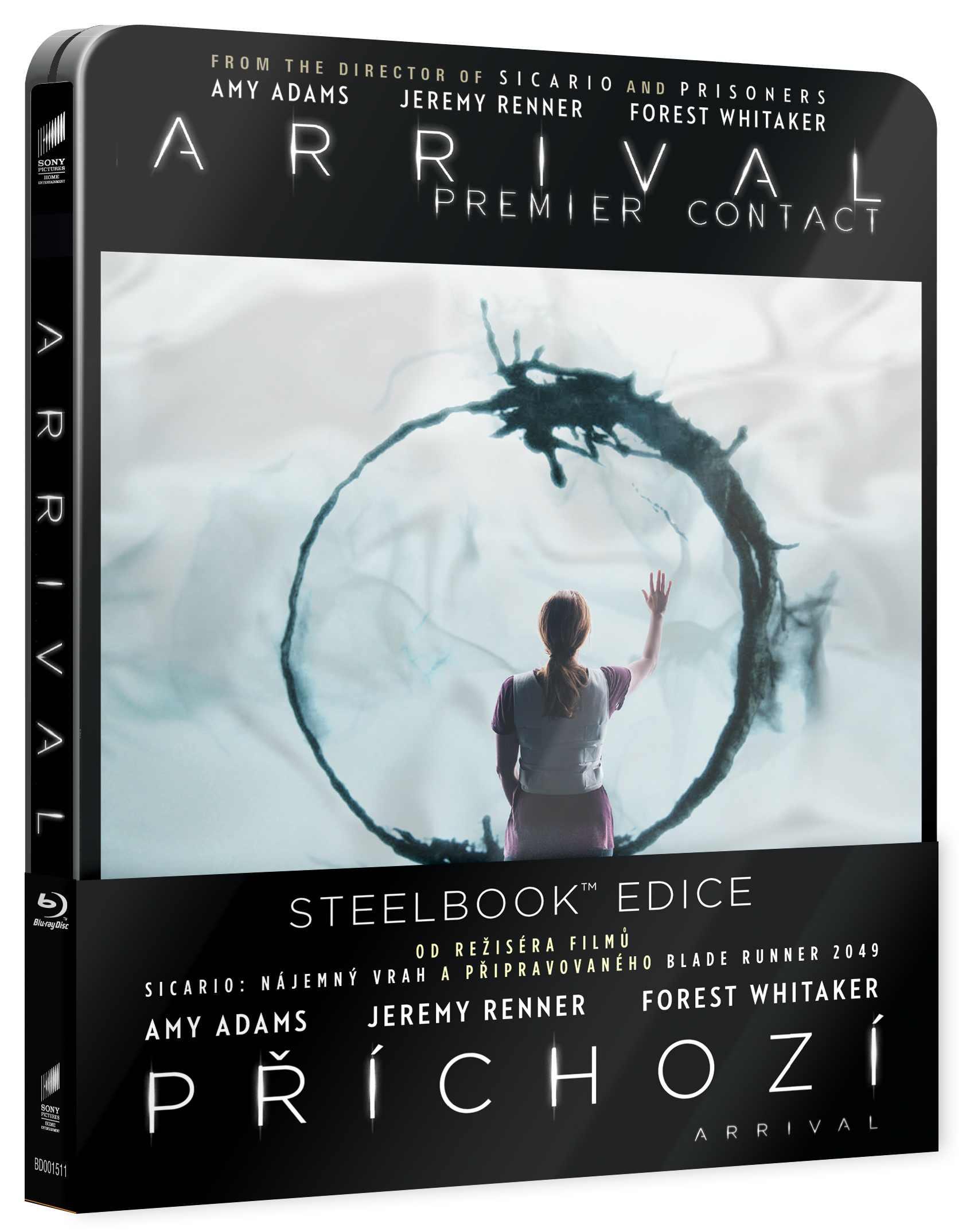 PŘÍCHOZÍ - Blu-ray STEELBOOK