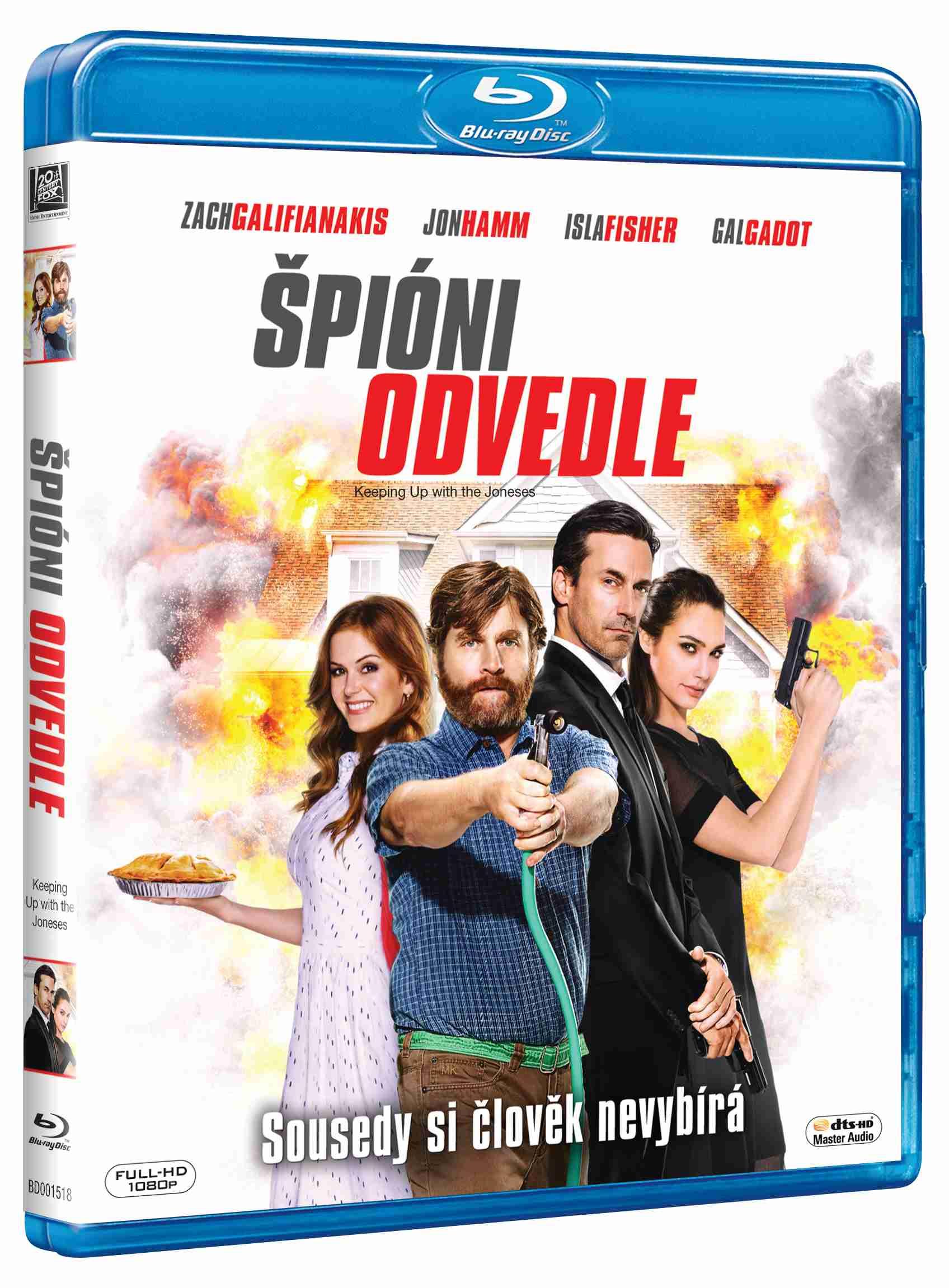 ŠPIÓNI ODVEDLE - Blu-ray
