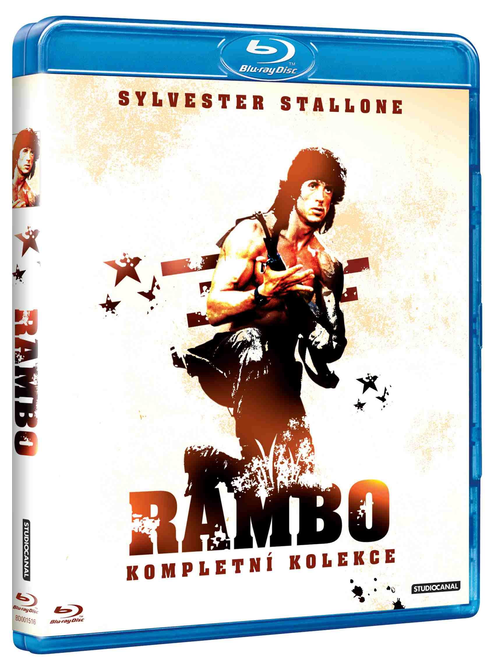 RAMBO 1-3 KOLEKCE (3 BD) - Blu-ray