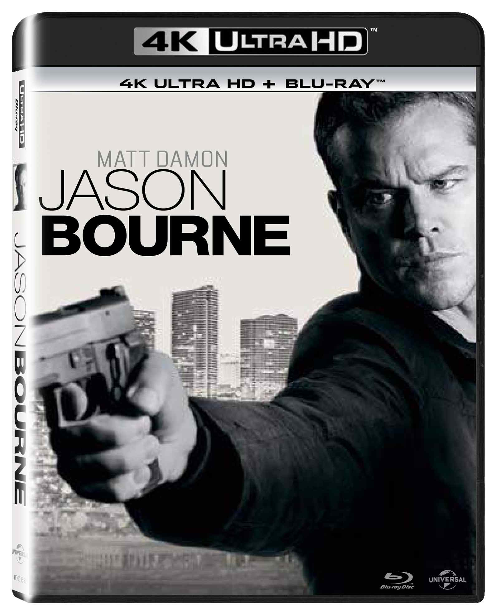 JASON BOURNE (4K ULTRA HD) - UHD Blu-ray + Blu-ray (2 BD)