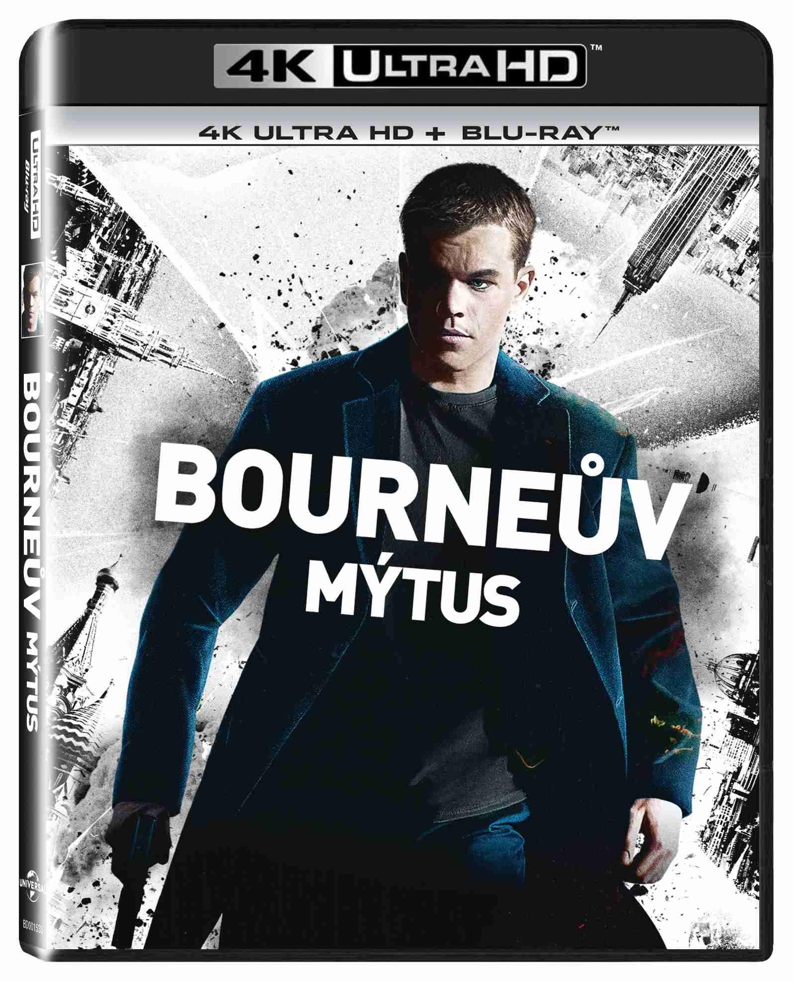 BOURNEŮV MÝTUS (4K ULTRA HD) - UHD Blu-ray + Blu-ray (2 BD)