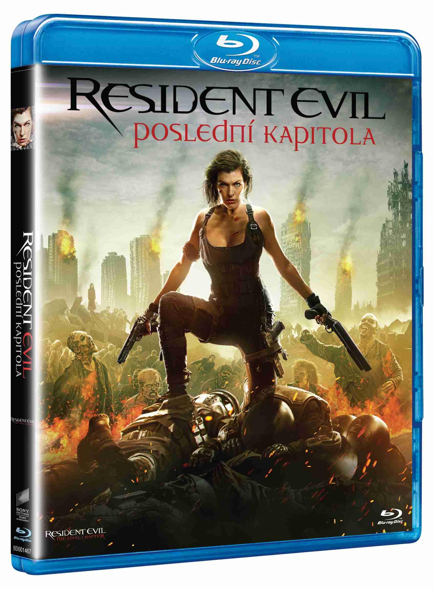 RESIDENT EVIL: POSLEDNÍ KAPITOLA - Blu-ray
