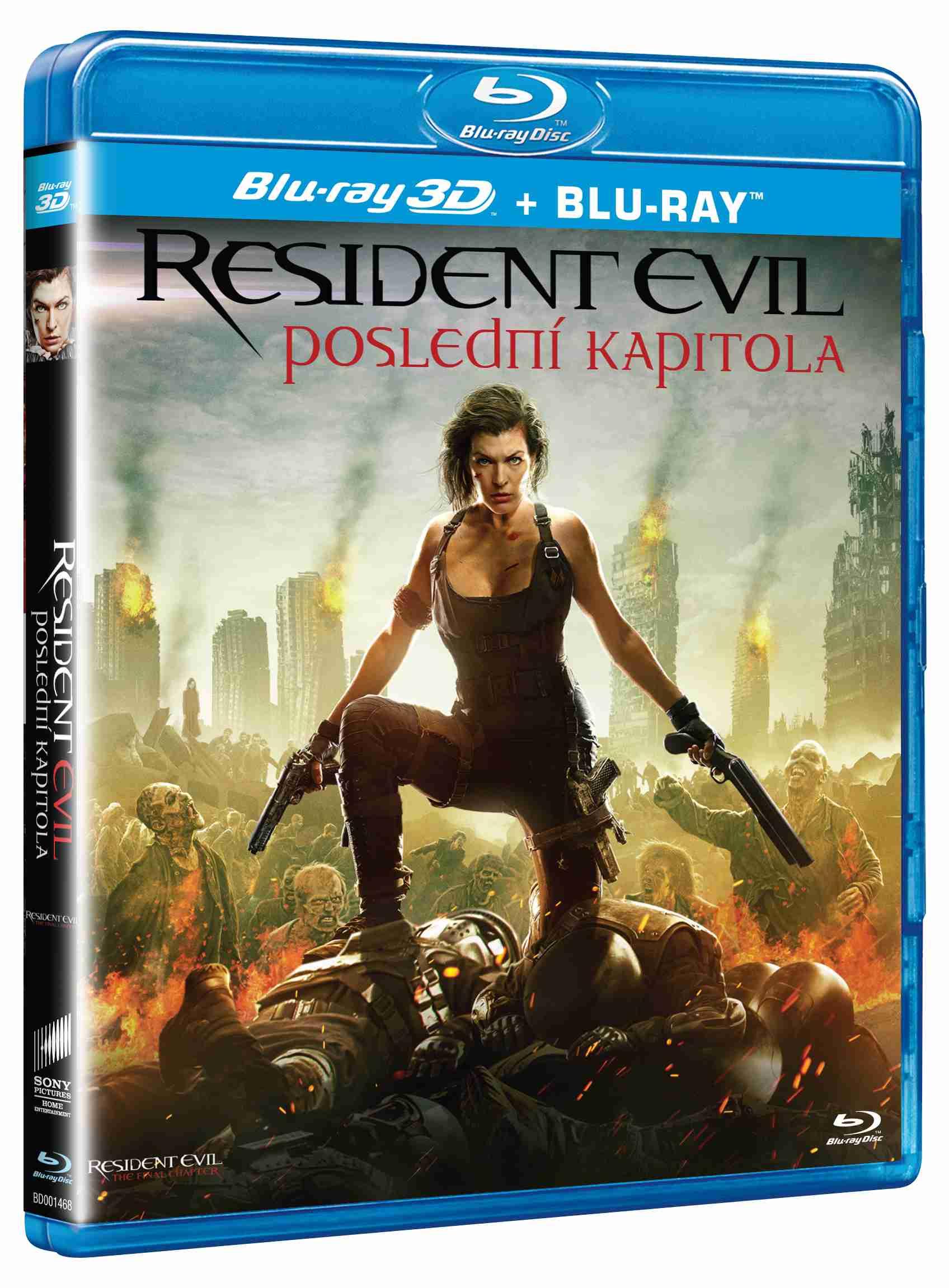 RESIDENT EVIL: POSLEDNÍ KAPITOLA - Blu-ray 3D + 2D (2 BD)