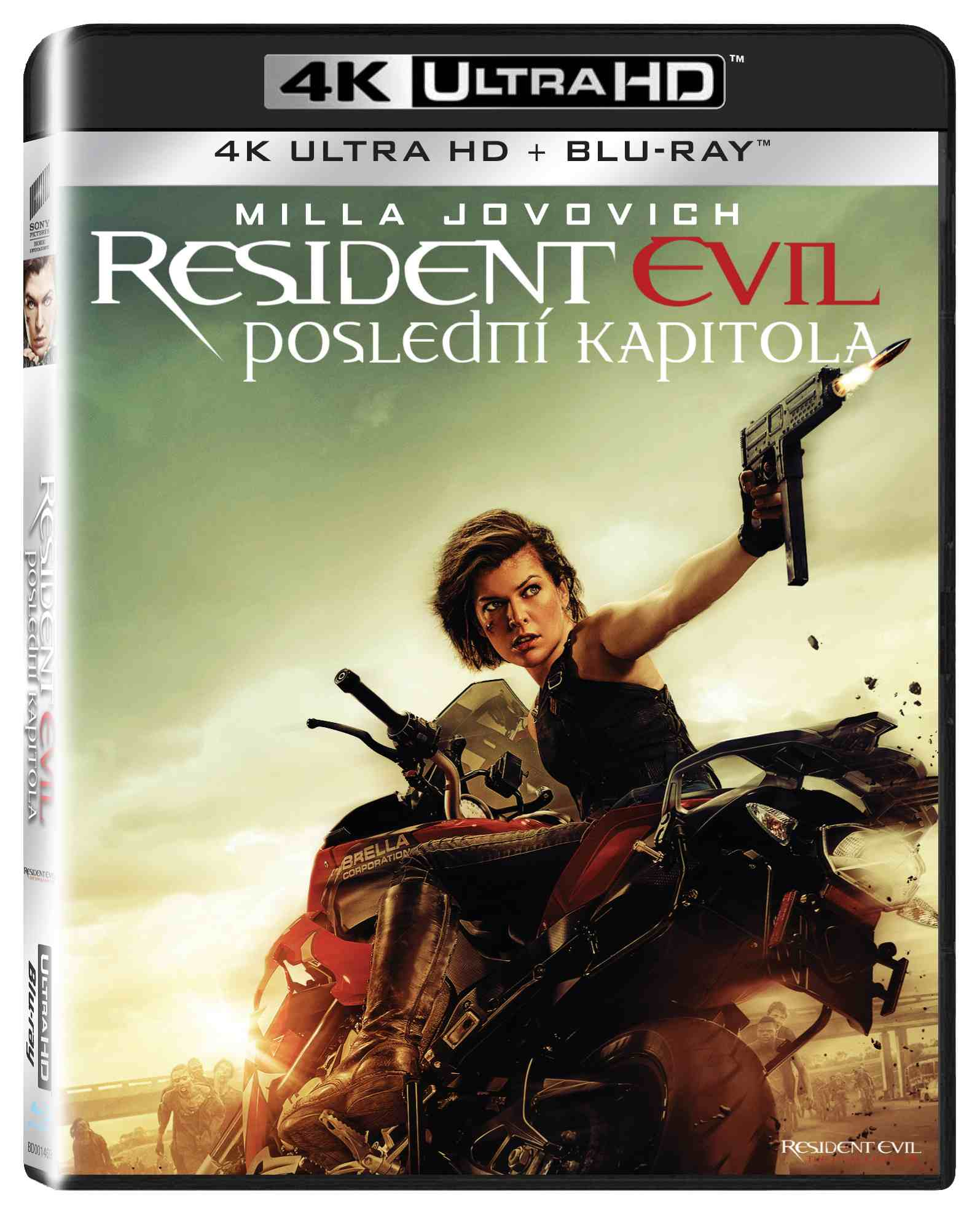 RESIDENT EVIL: POSLEDNÍ KAPITOLA (4K ULTRA HD) - UHD Blu-ray + Blu-ray (2 BD)