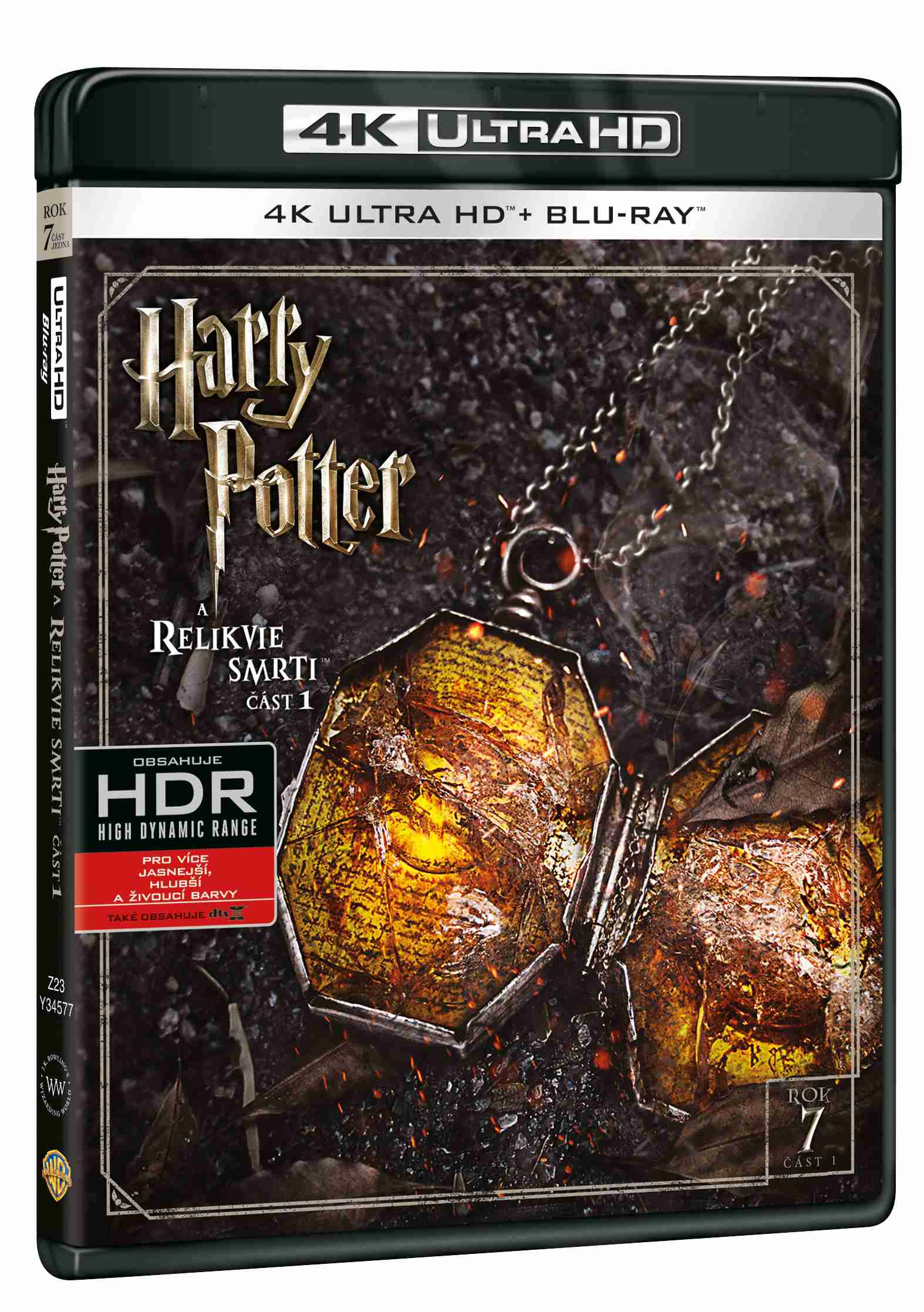 HARRY POTTER A RELIKVIE SMRTI 1 (4K ULTRA HD) - UHD Blu-ray + Blu-ray (2 BD)