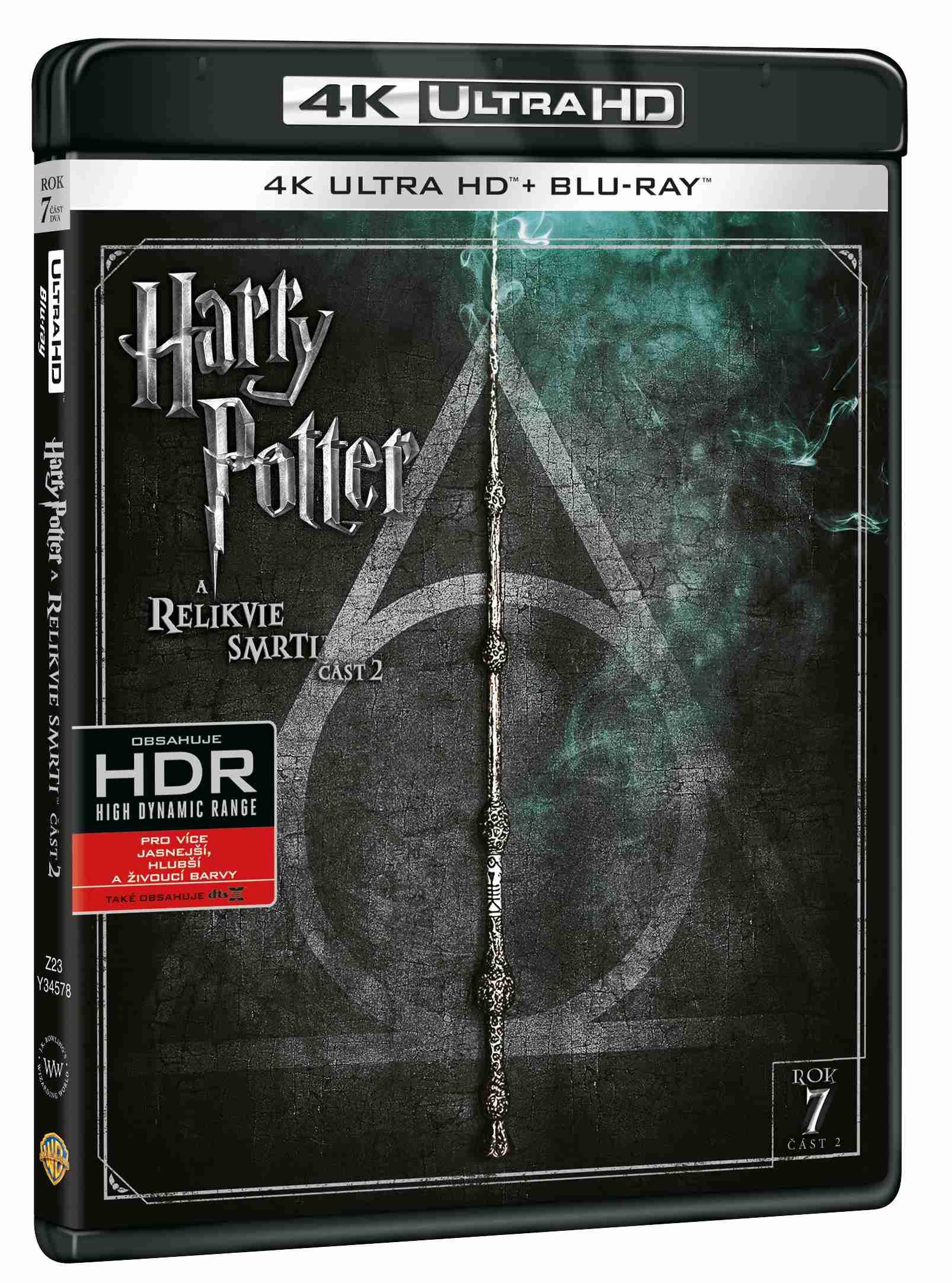 HARRY POTTER A RELIKVIE SMRTI 2 (4K ULTRA HD) - UHD Blu-ray + Blu-ray (2 BD)