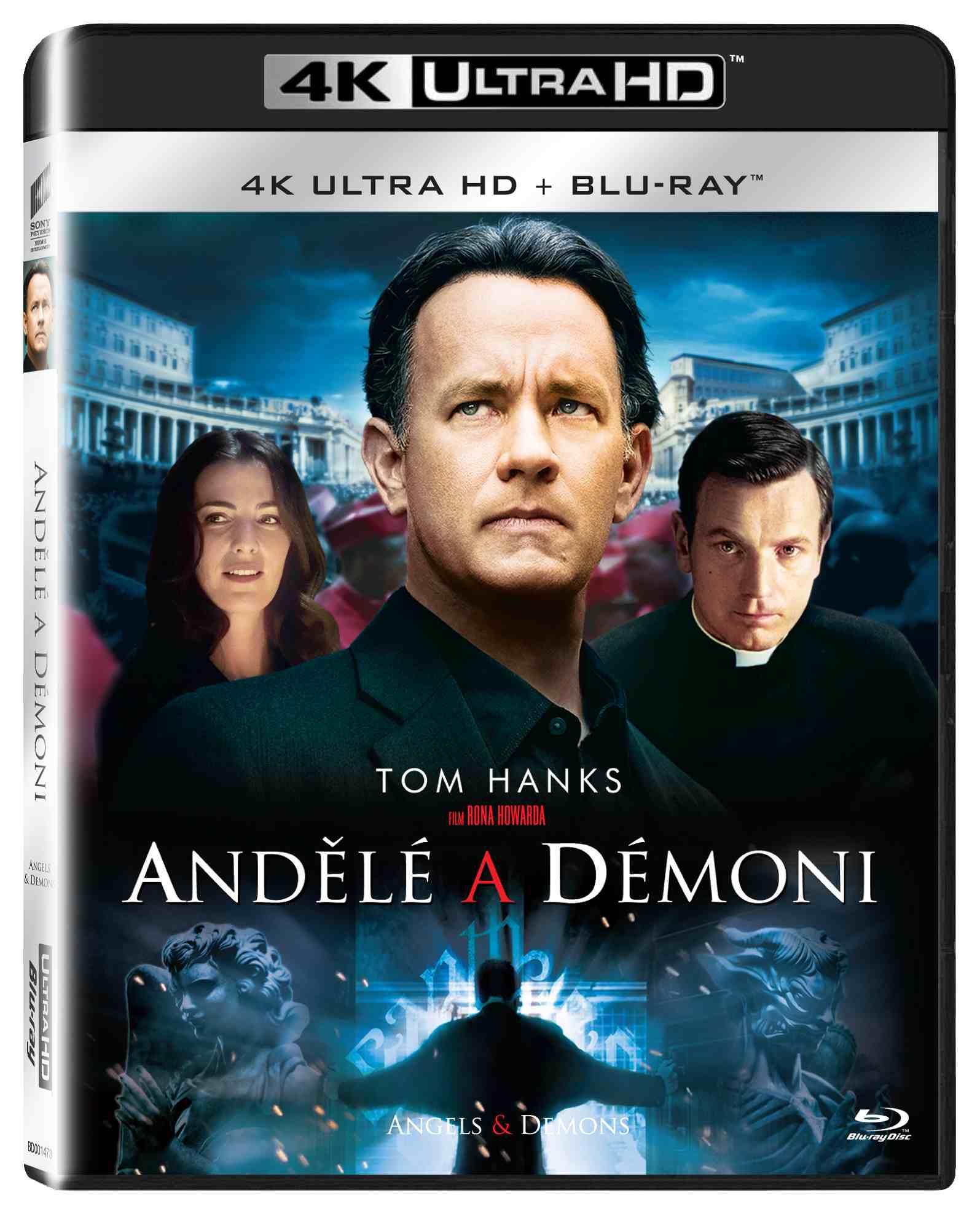 ANDĚLÉ A DÉMONI (4K ULTRA HD) - UHD Blu-ray + Blu-ray (2 BD)