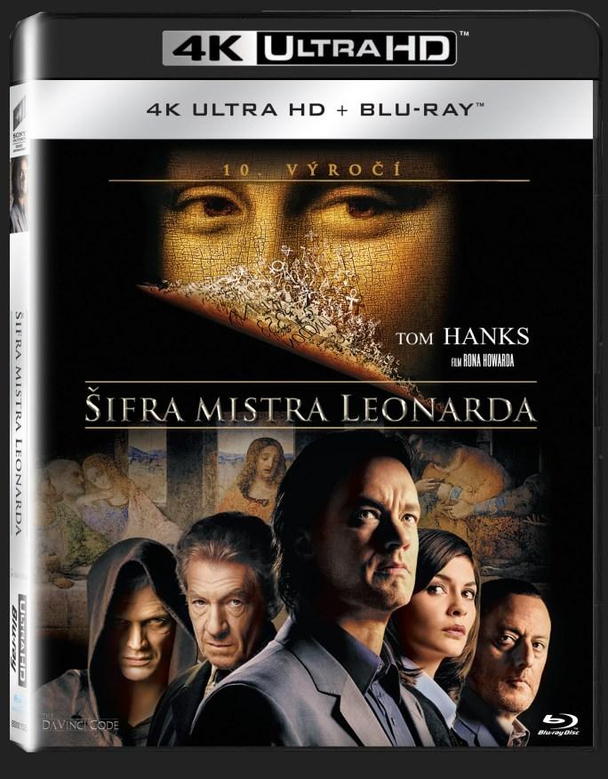 ŠIFRA MISTRA LEONARDA (4K ULTRA HD) - UHD Blu-ray + Blu-ray (2 BD)
