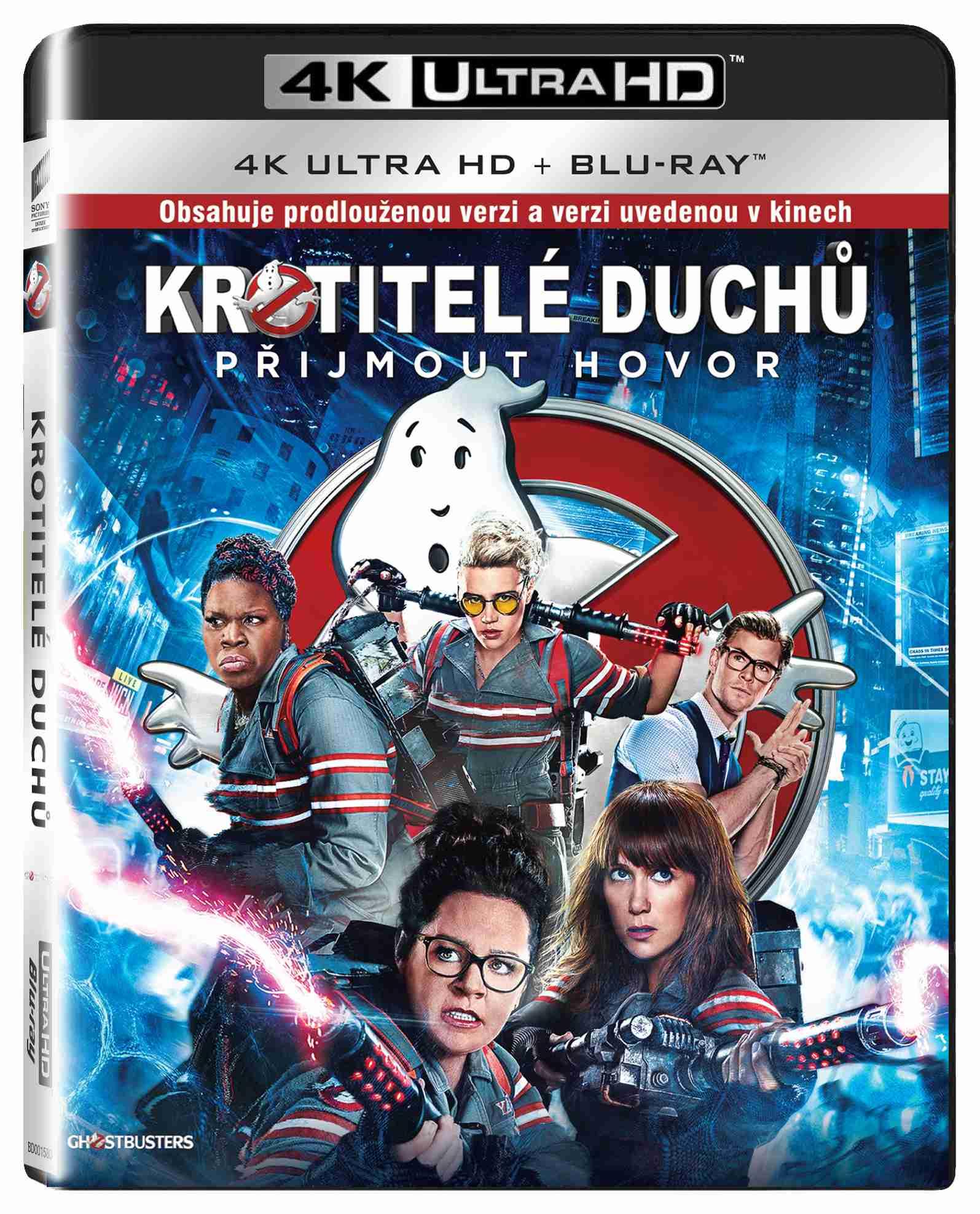 KROTITELÉ DUCHŮ (2016) 4K ULTRA HD - UHD Blu-ray + Blu-ray (2 BD)