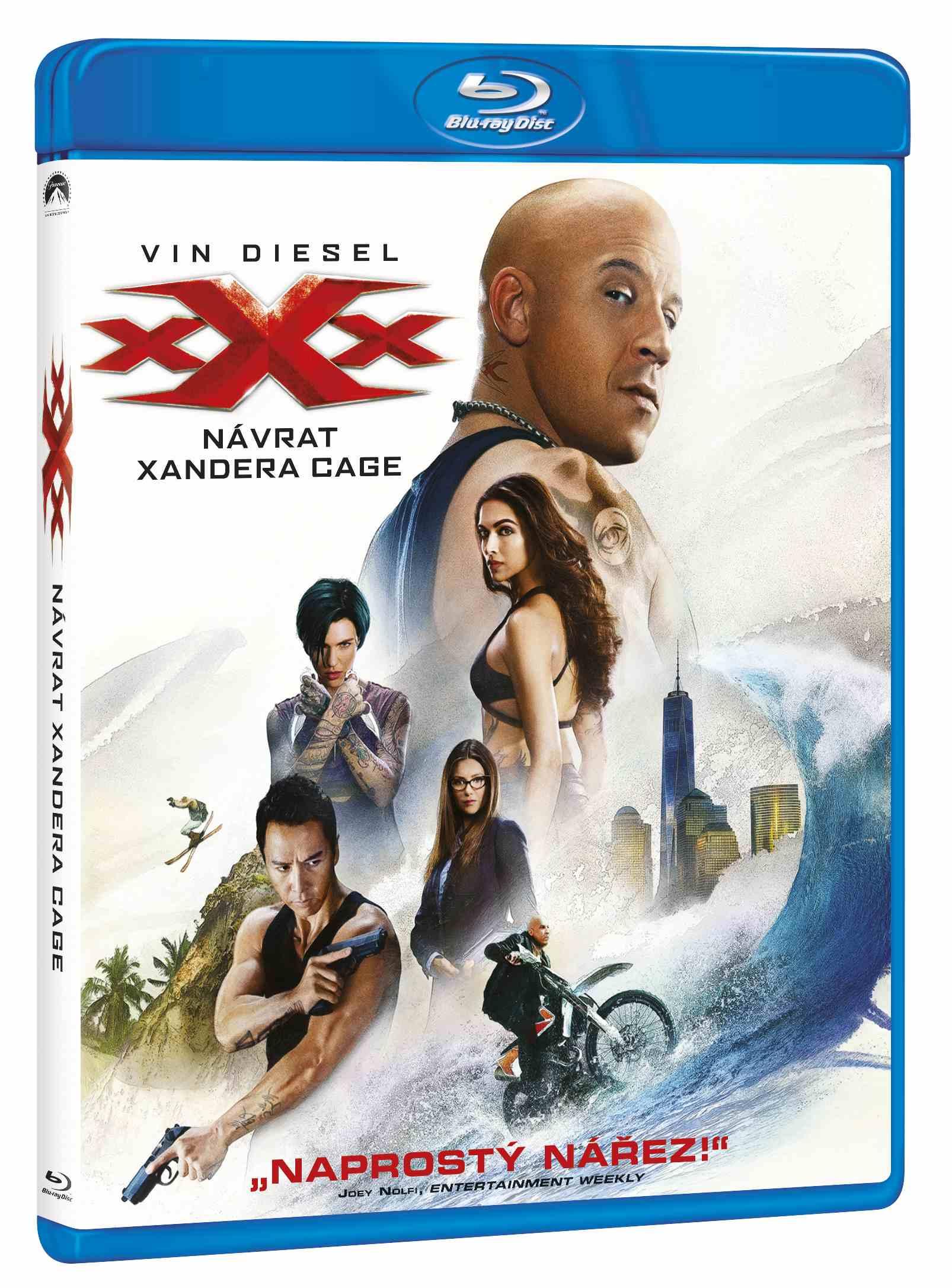 xXx: NÁVRAT XANDERA CAGE - Blu-ray