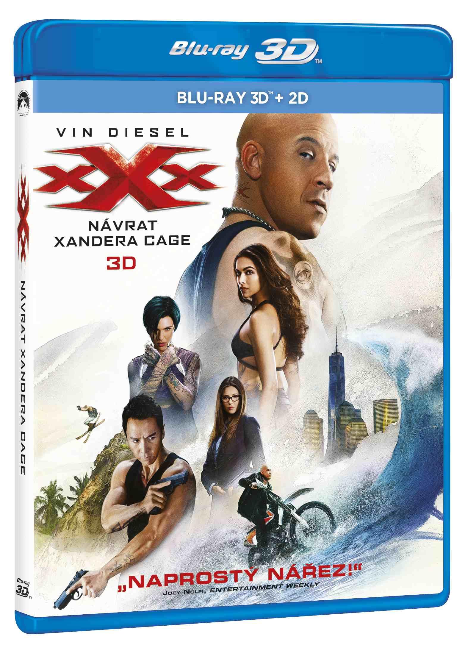xXx: NÁVRAT XANDERA CAGE - Blu-ray 3D + 2D