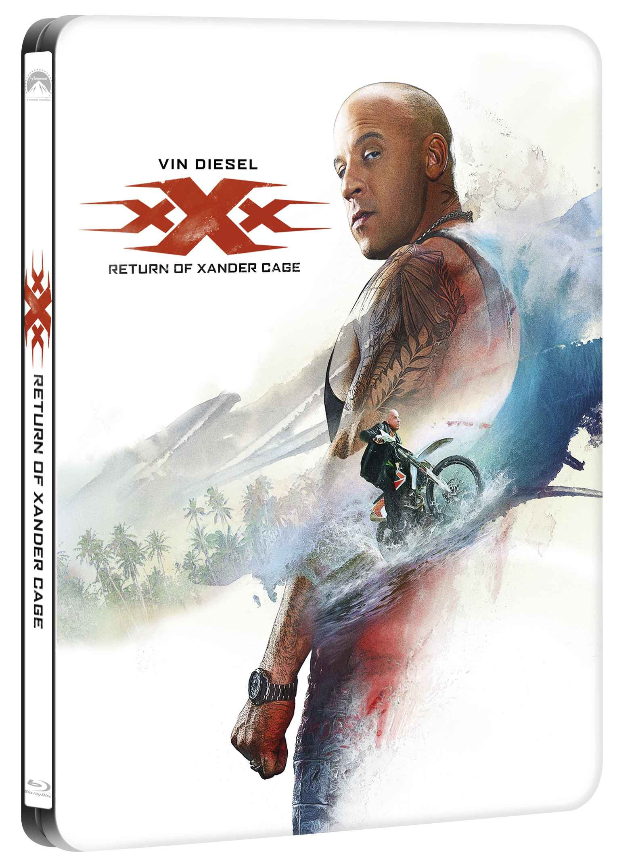 xXx: NÁVRAT XANDERA CAGE - Blu-ray 3D + 2D STEELBOOK