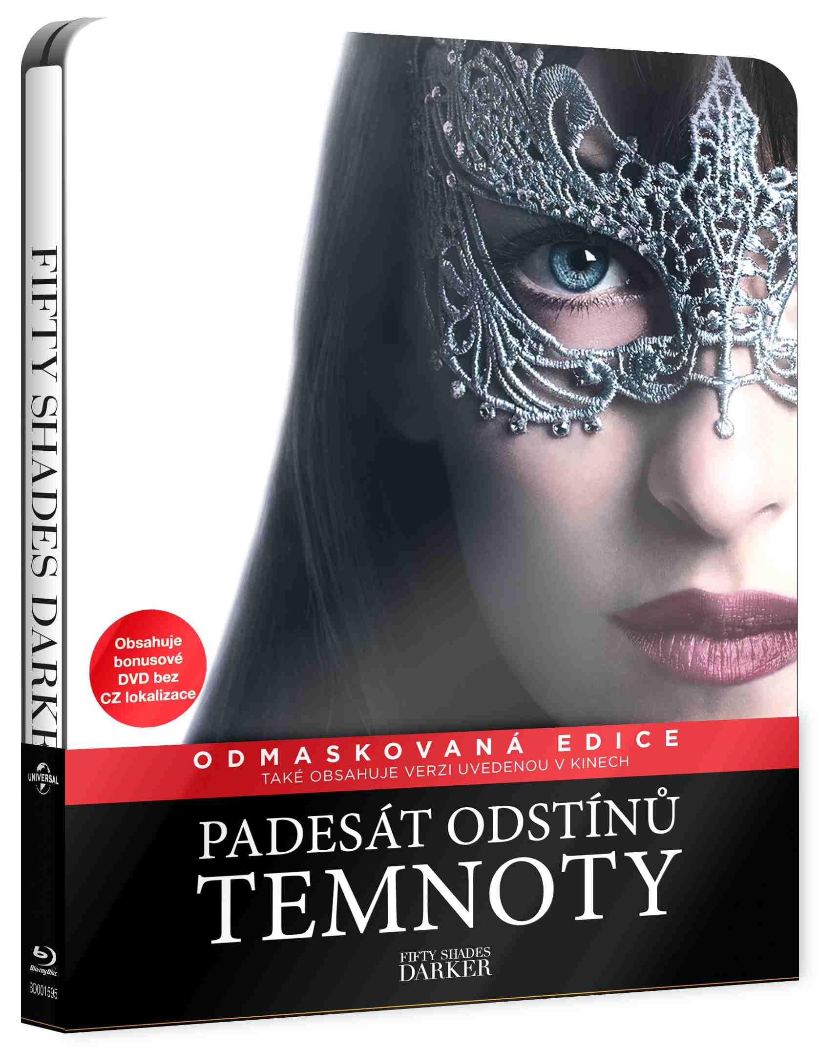 PADESÁT ODSTÍNŮ TEMNOTY - Blu-ray STEELBOOK