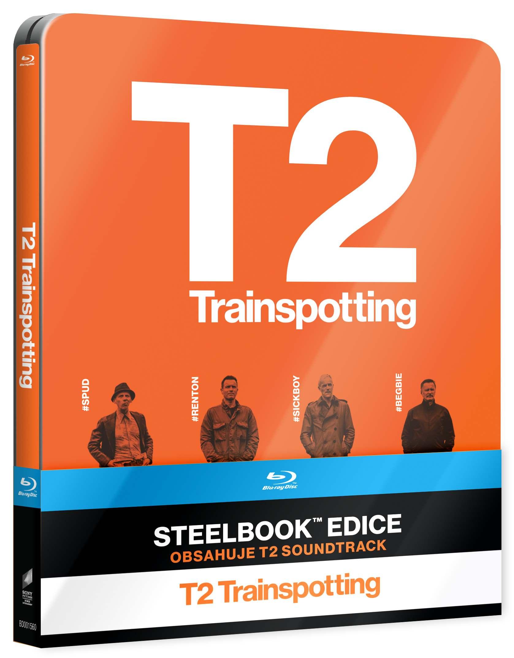 T2 TRAINSPOTTING - Blu-ray STEELBOOK + CD Soundtrack