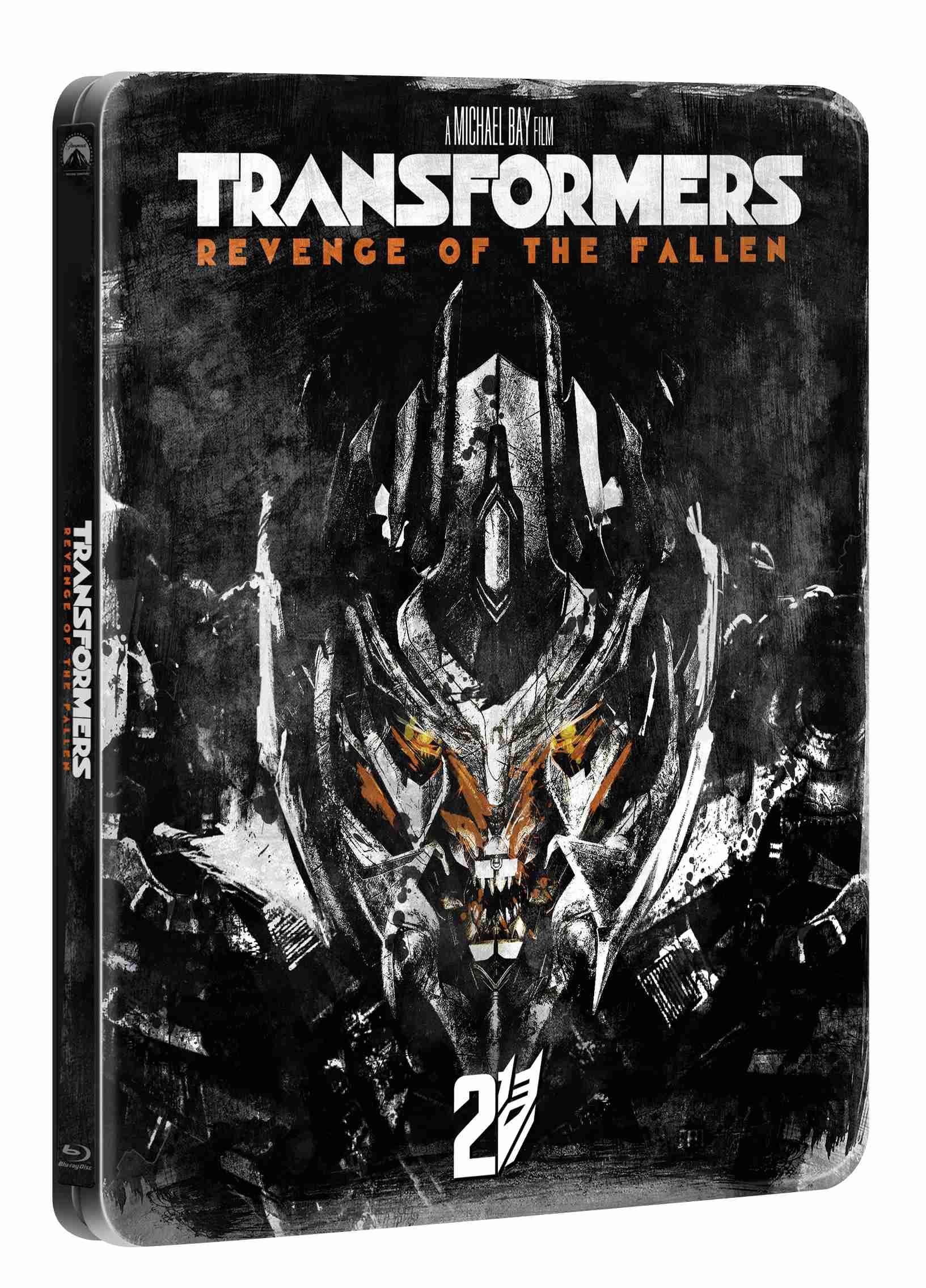 TRANSFORMERS: POMSTA PORAŽENÝCH (Edice 10 let) - Blu-ray STEELBOOK