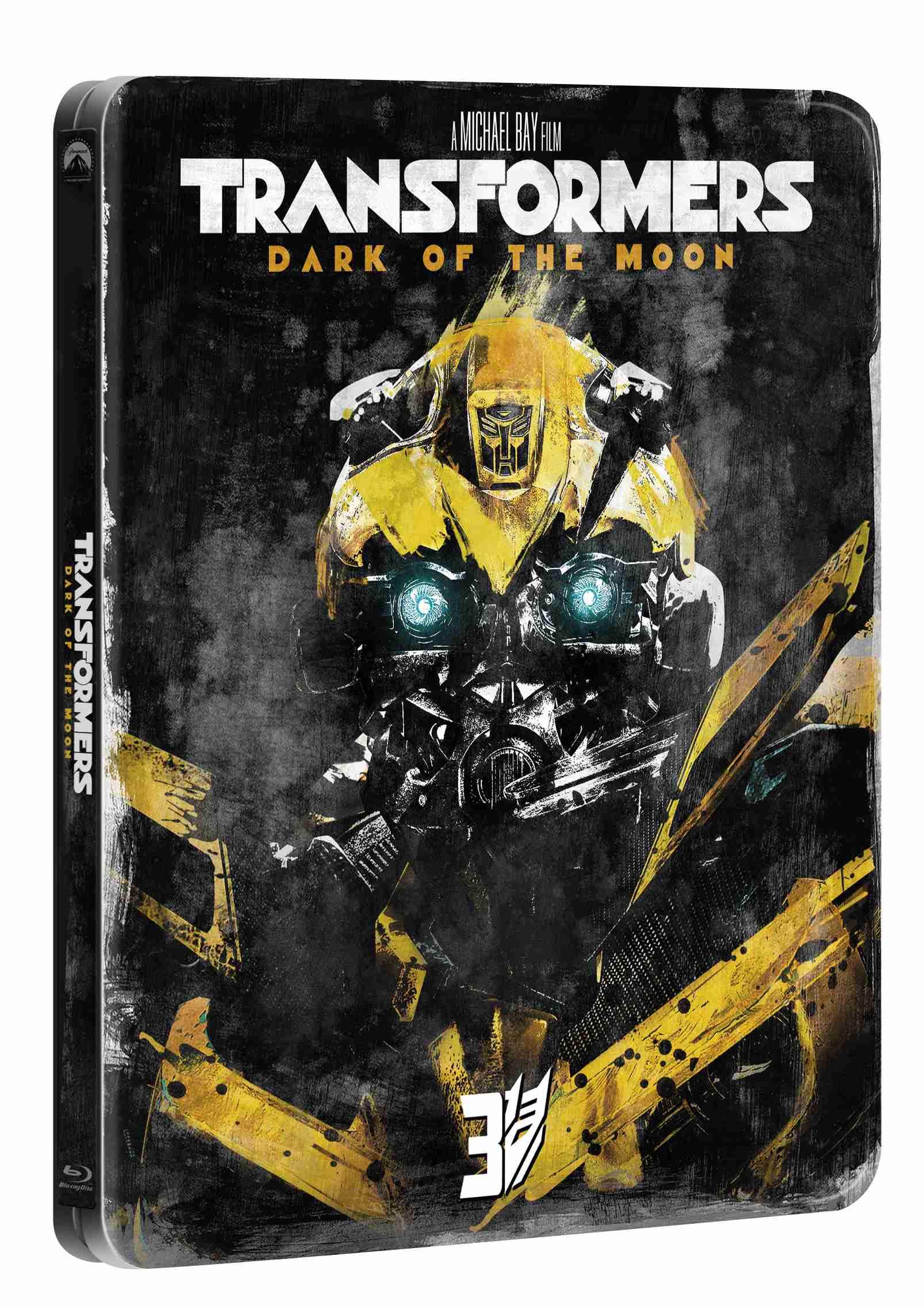 TRANSFORMERS 3 (Edice 10 let) - Blu-ray STEELBOOK